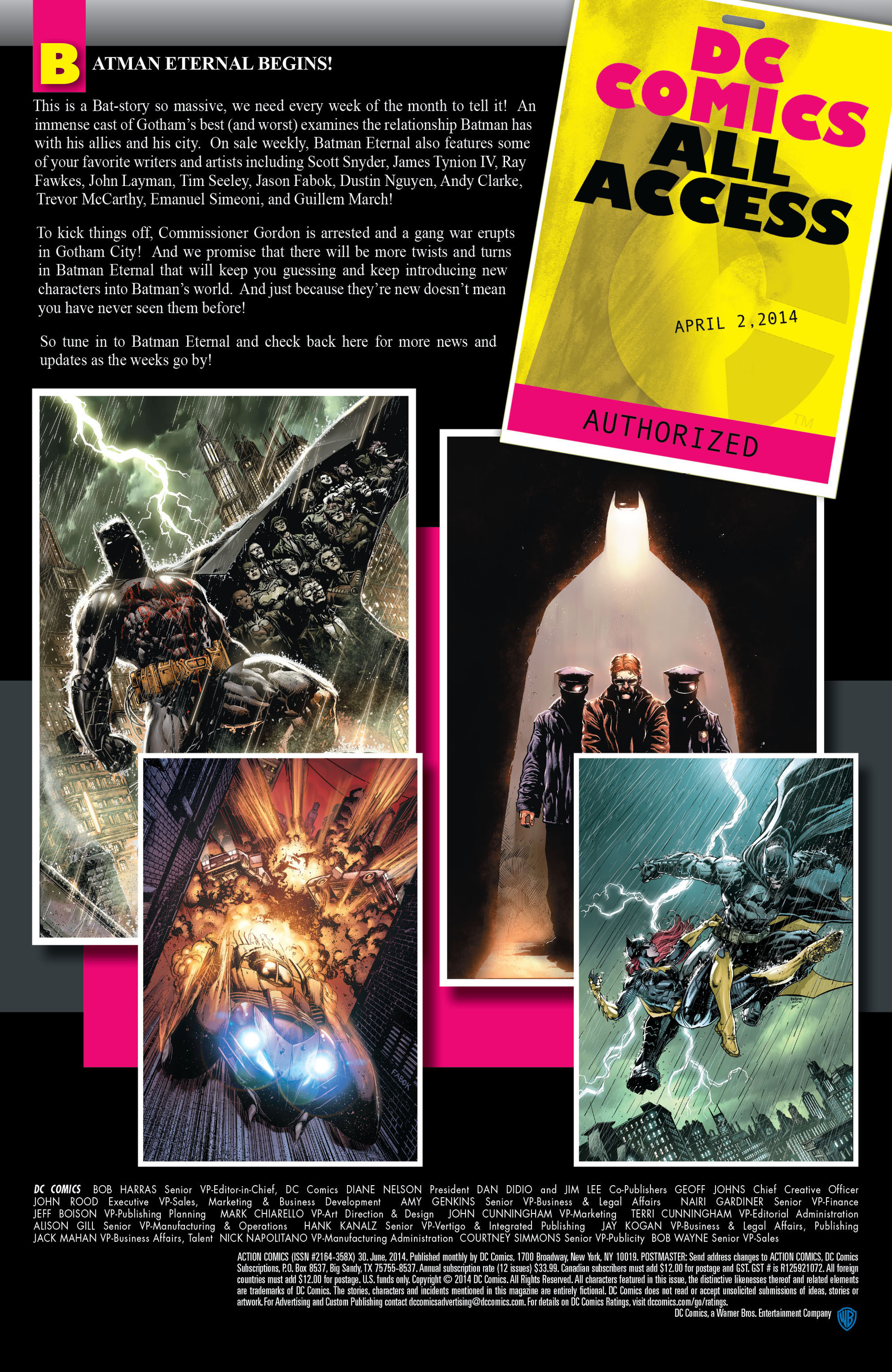 Read online Action Comics (2011) comic -  Issue #30 - 23