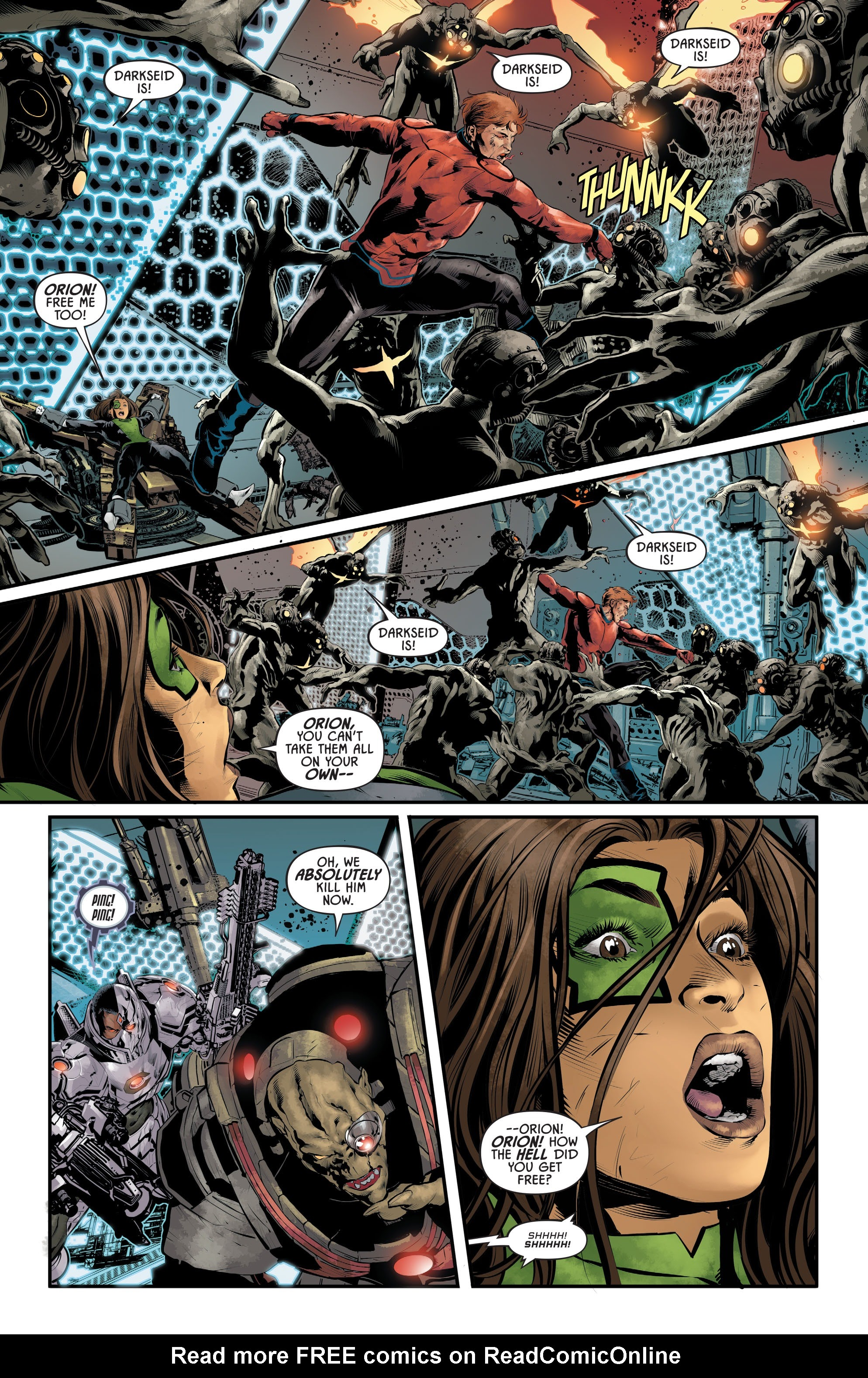 Justice League Odyssey #17 #17 - English 15