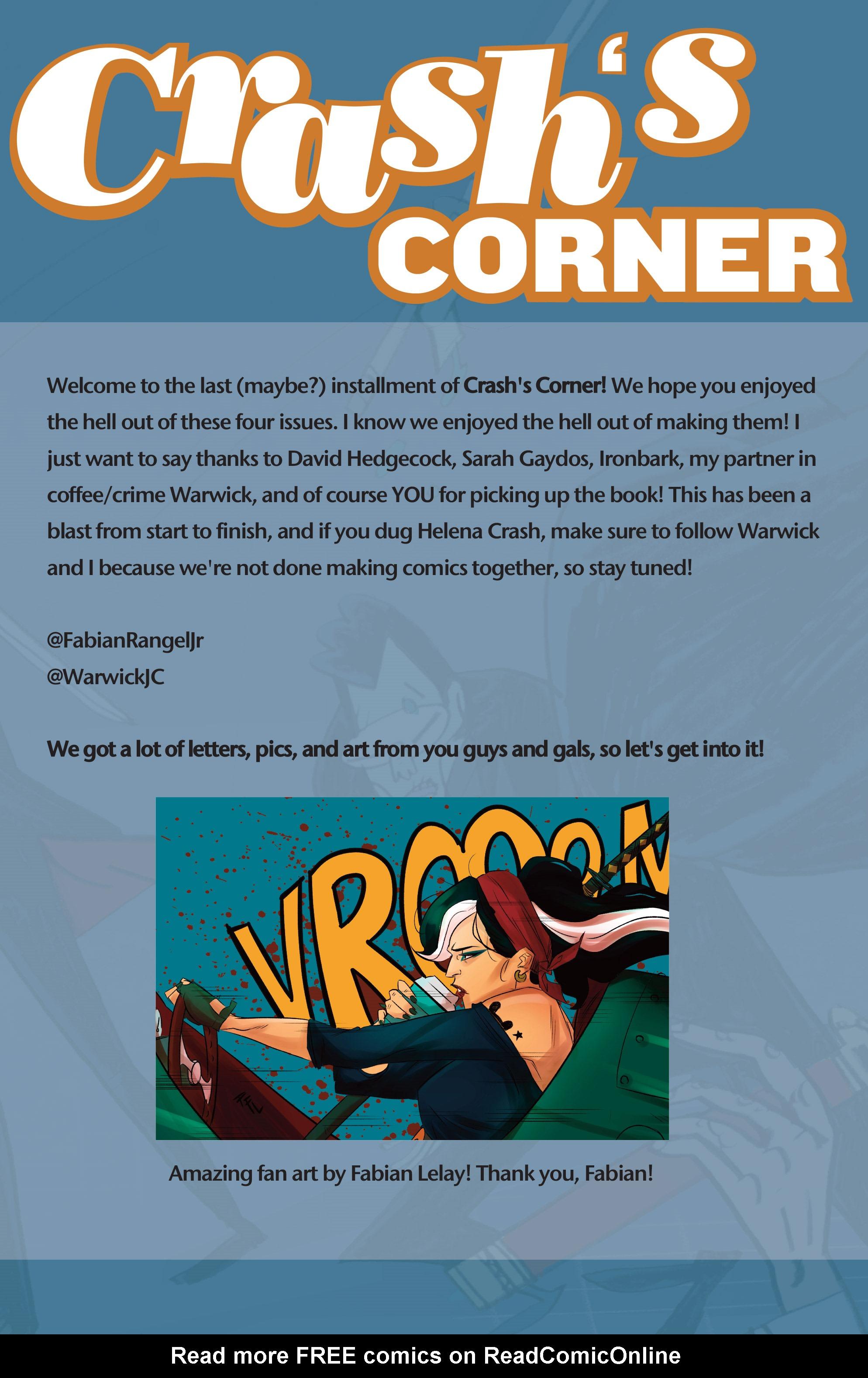 Read online Helena Crash comic -  Issue #4 - 25