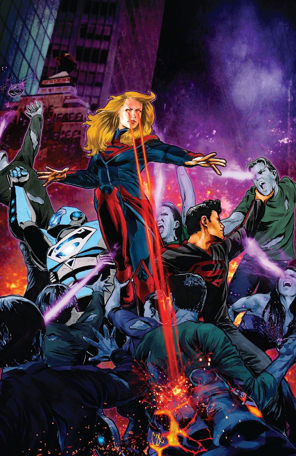 Read online Smallville Season 11 [II] comic -  Issue # TPB 8 - 143