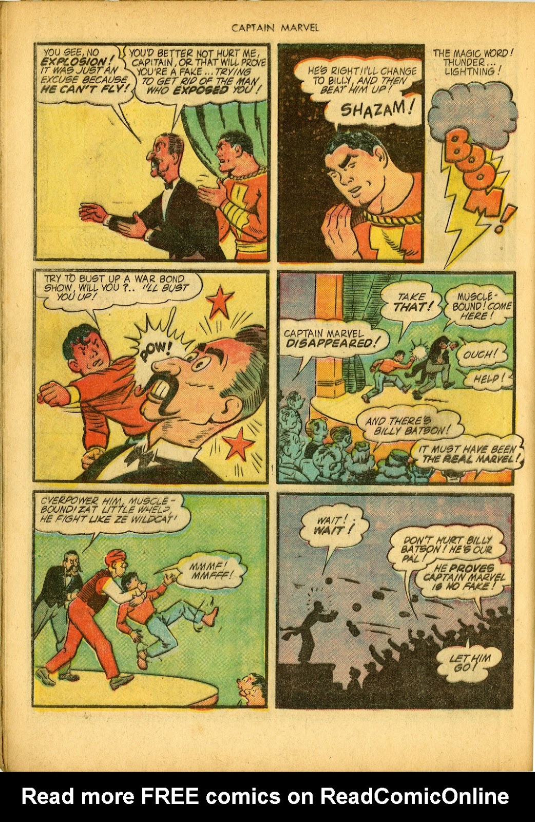 Captain Marvel Adventures issue 34 - Page 42