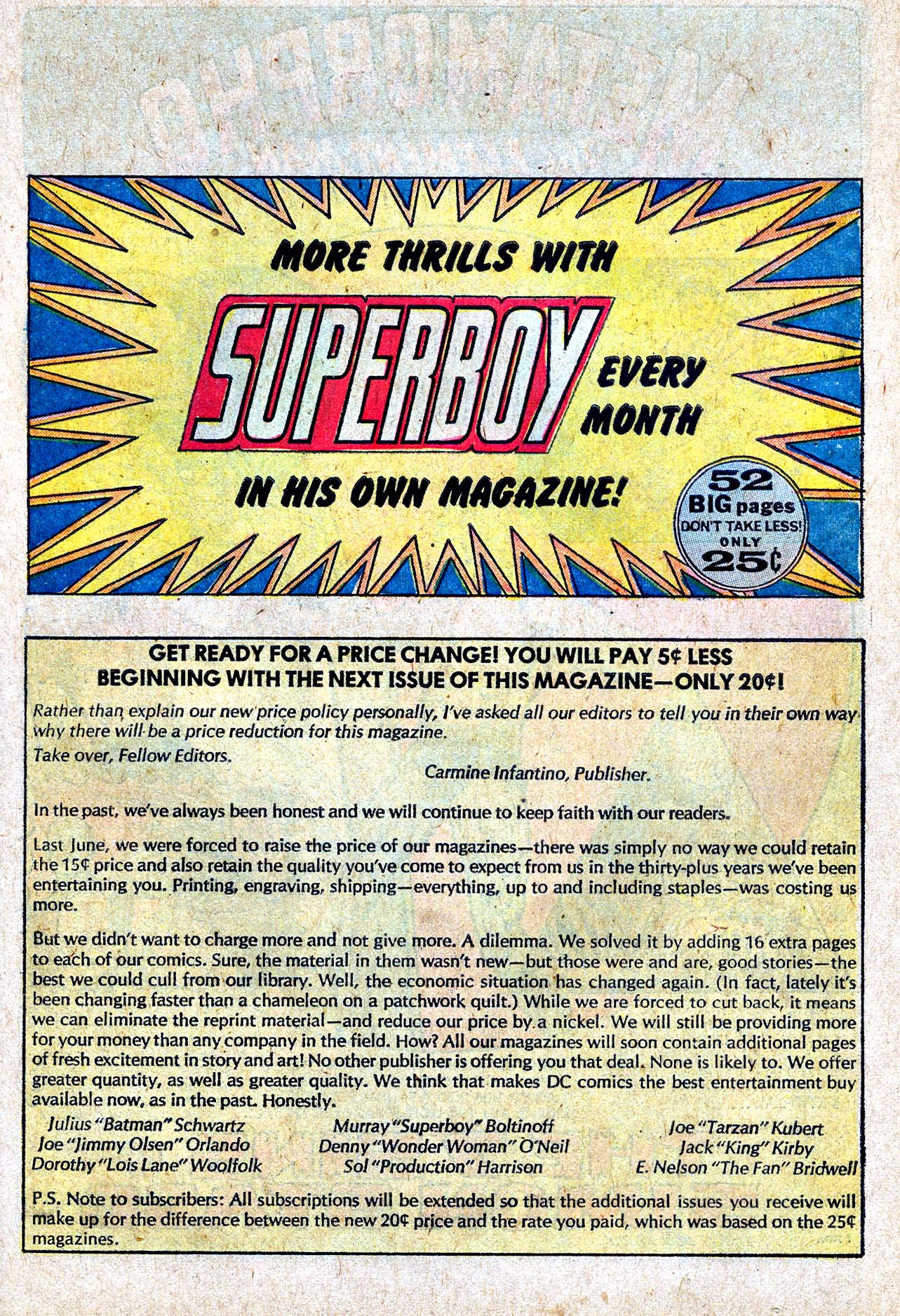 Read online Action Comics (1938) comic -  Issue #413 - 40