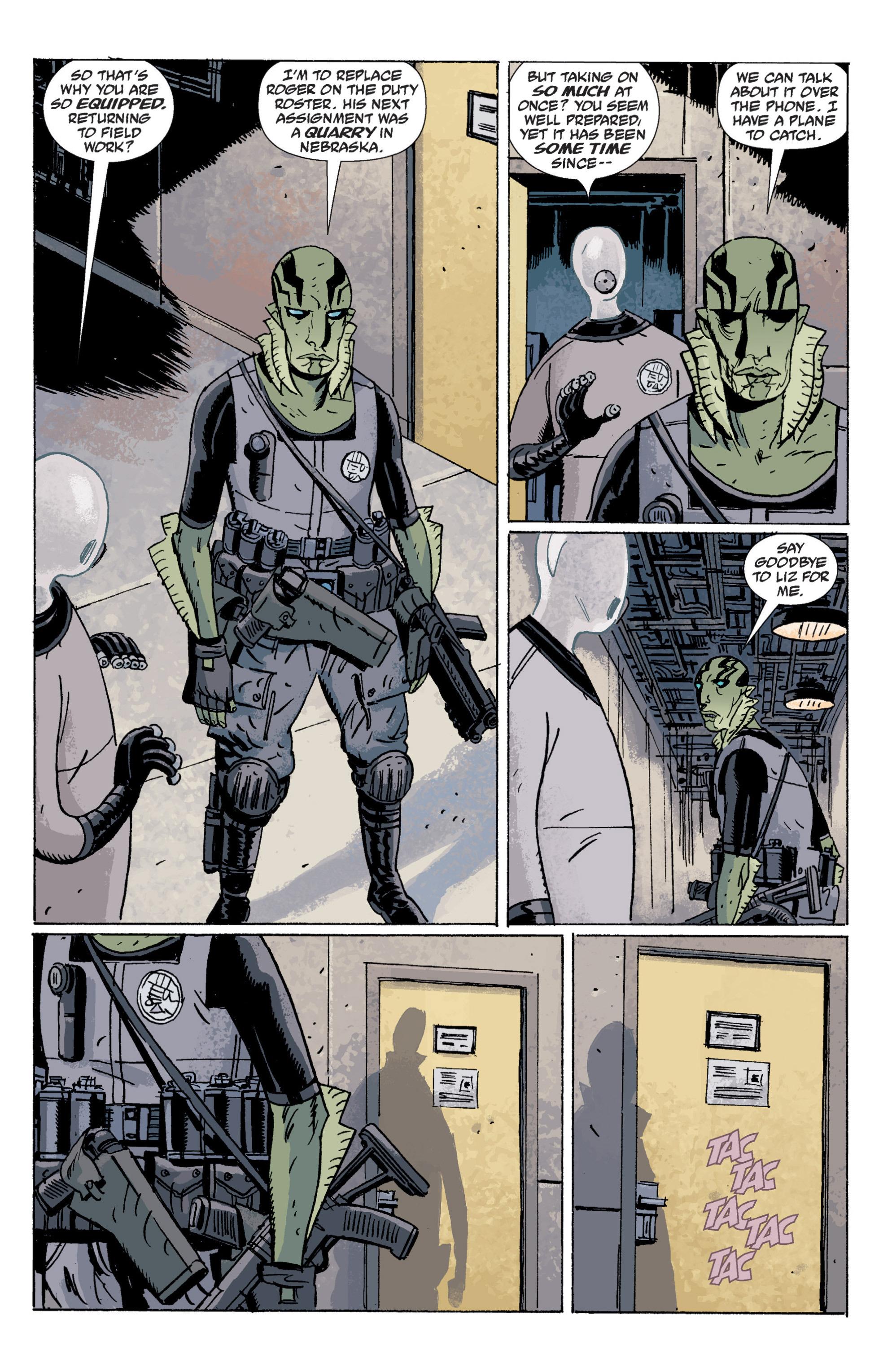 Read online B.P.R.D. (2003) comic -  Issue # TPB 5 - 92