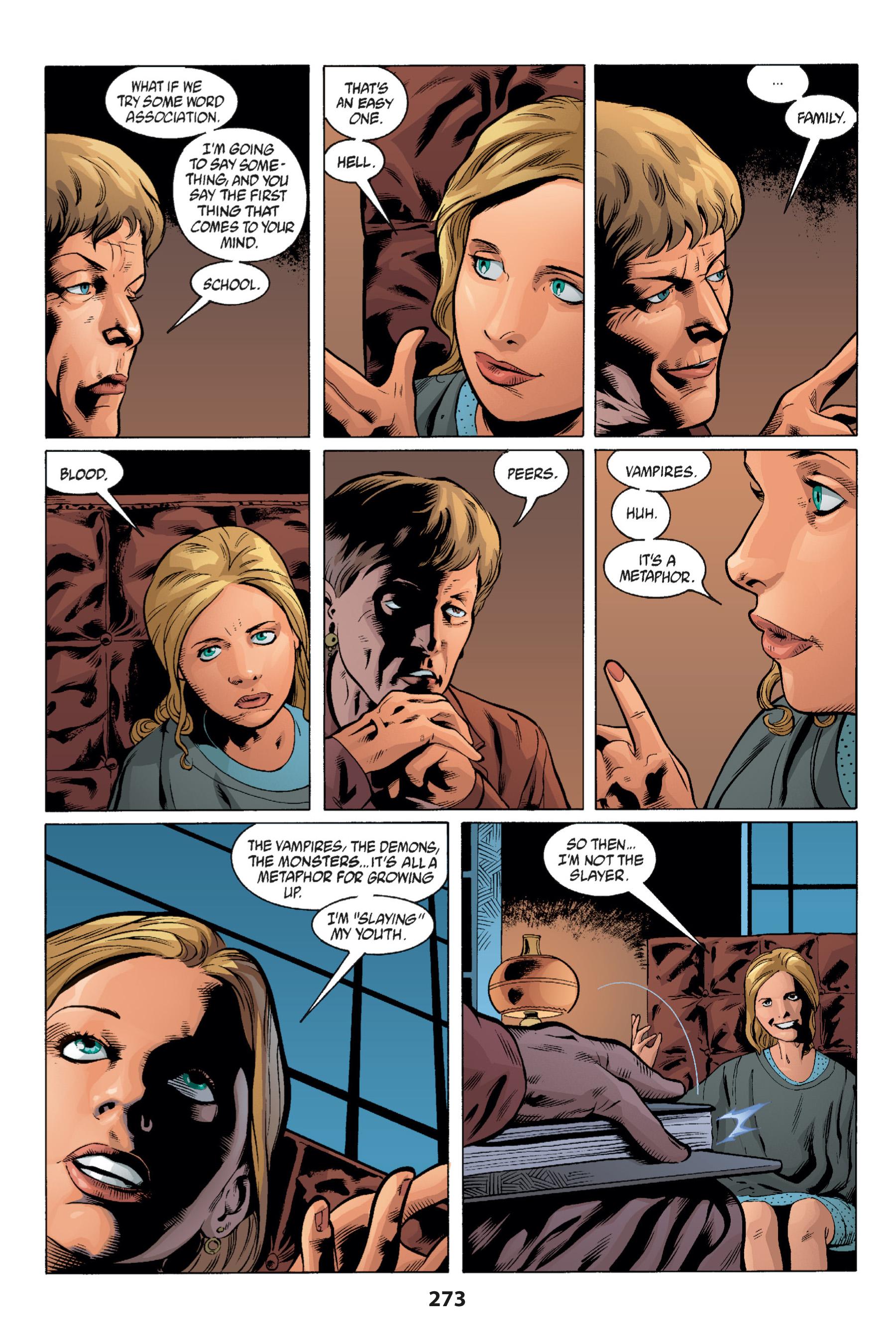 Read online Buffy the Vampire Slayer: Omnibus comic -  Issue # TPB 1 - 264