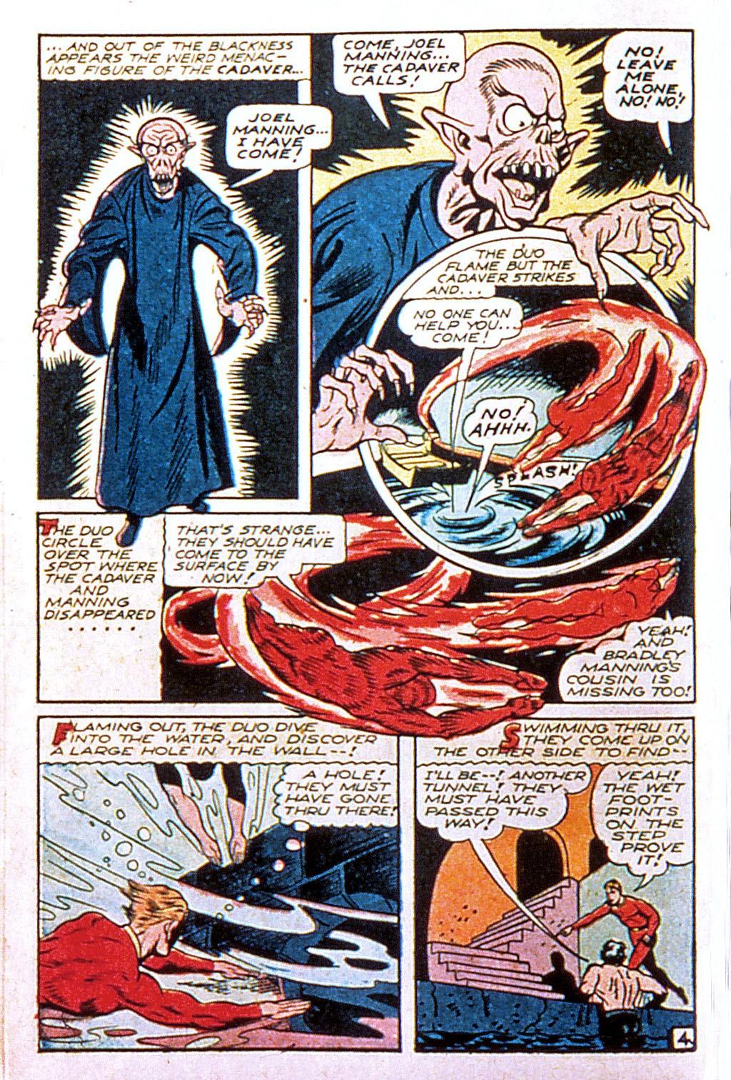 Read online Mystic Comics (1944) comic -  Issue #2 - 22