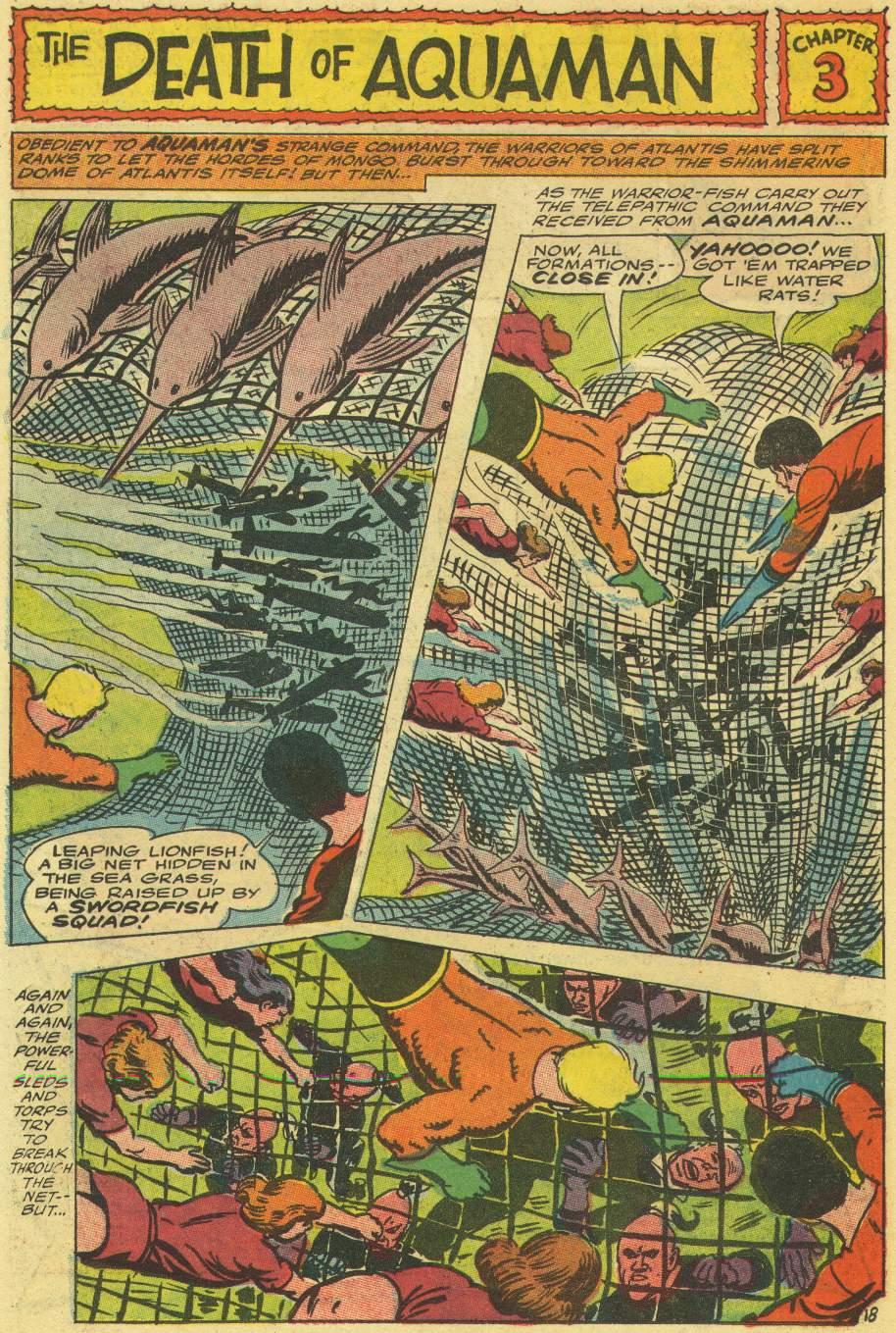 Read online Aquaman (1962) comic -  Issue #30 - 26