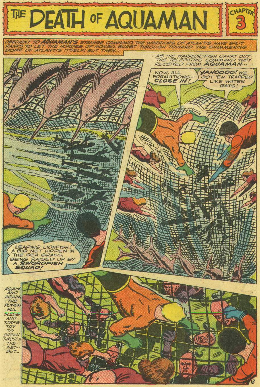 Aquaman (1962) Issue #30 #30 - English 26