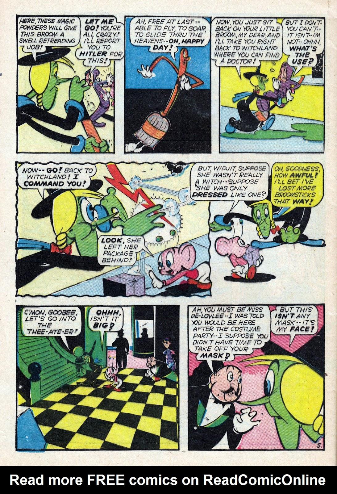 Read online Comedy Comics (1942) comic -  Issue #14 - 62