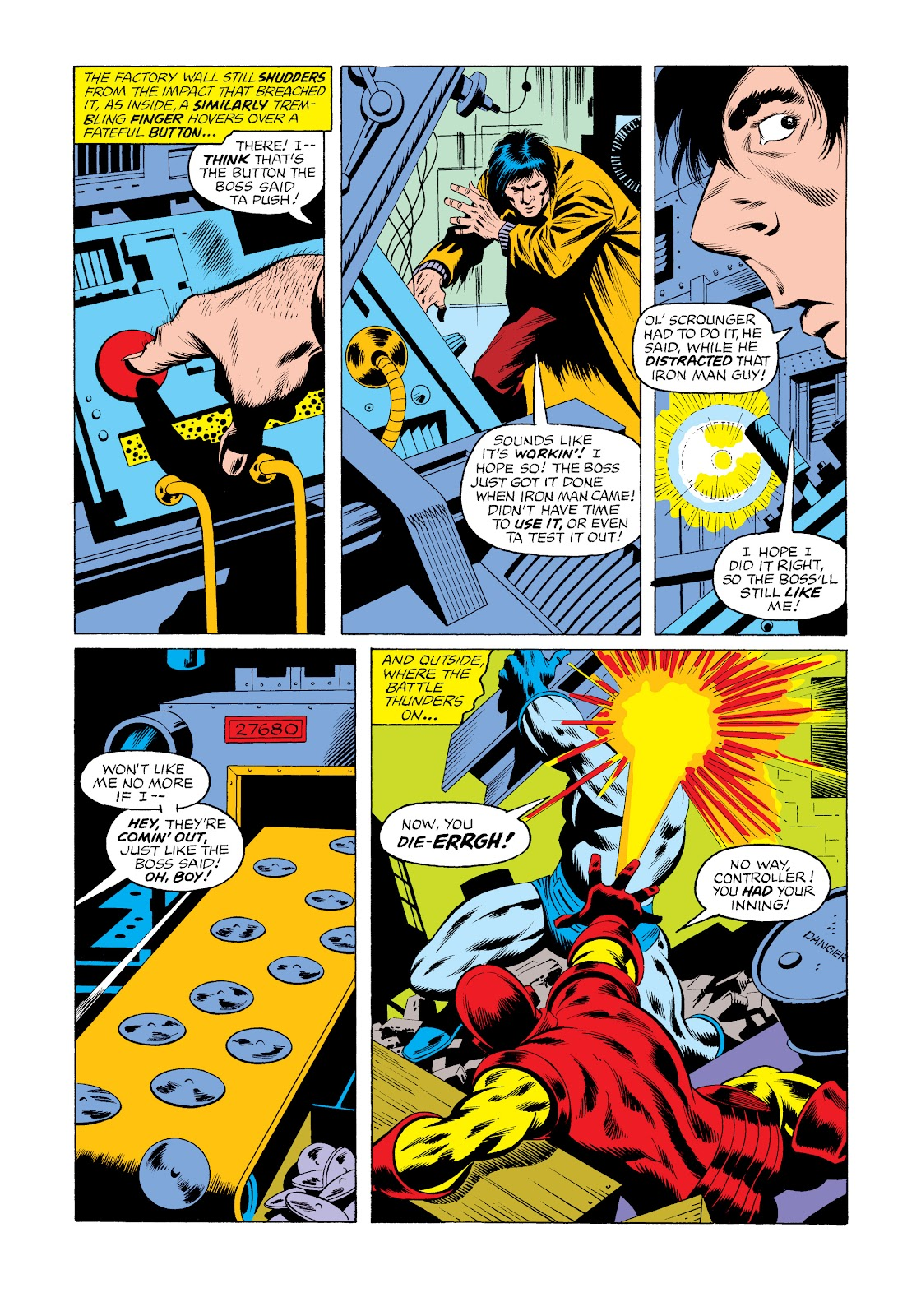 Read online Marvel Masterworks: The Invincible Iron Man comic -  Issue # TPB 11 (Part 3) - 9