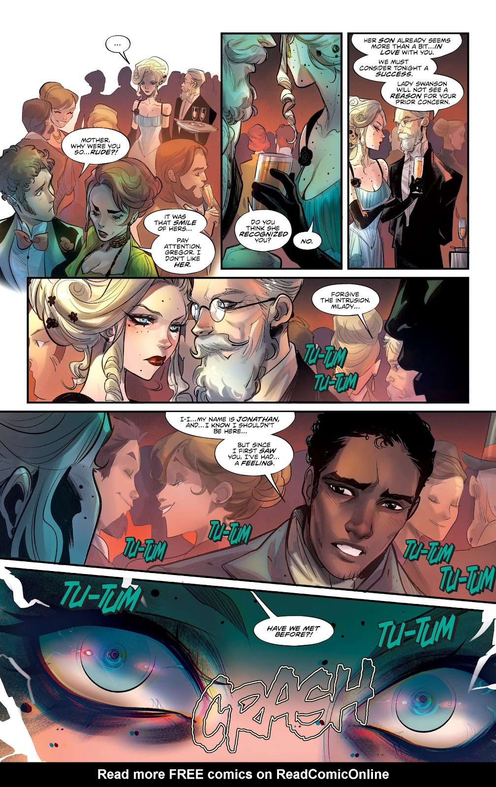 Read online Mirka Andolfo's Mercy comic -  Issue #2 - 19