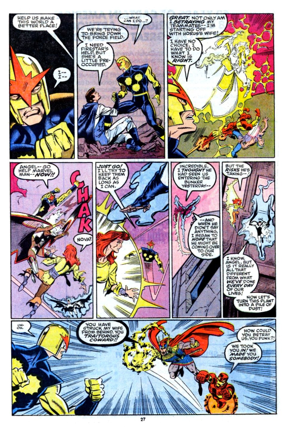 The New Warriors Issue #12 #16 - English 21