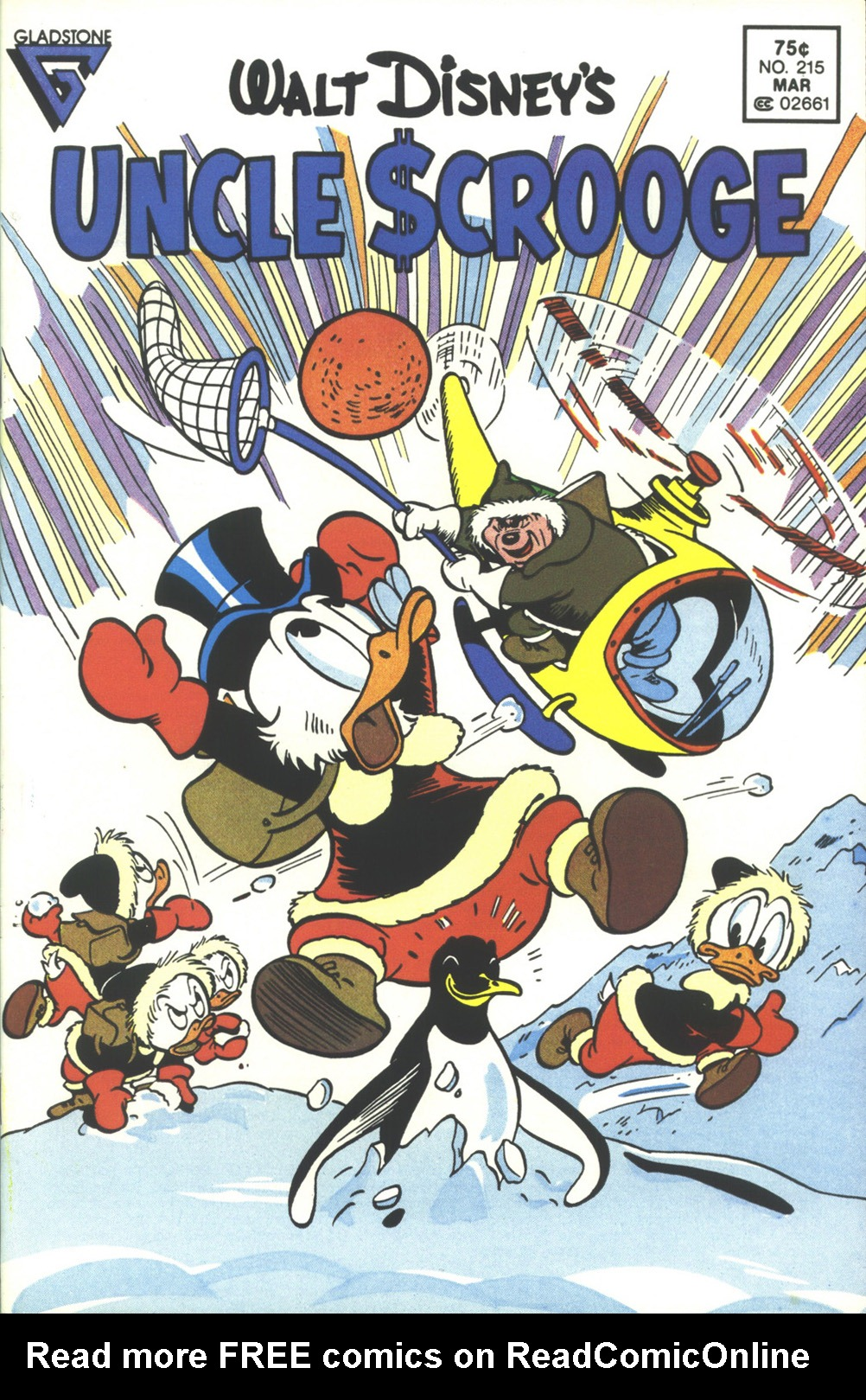 Read online Uncle Scrooge (1953) comic -  Issue #215 - 1