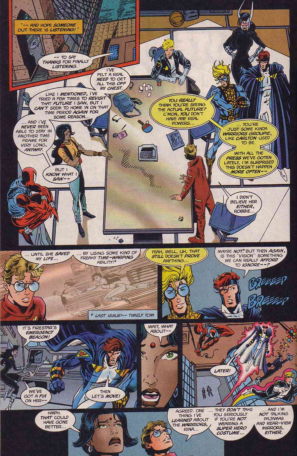 The New Warriors Issue #63 #67 - English 17