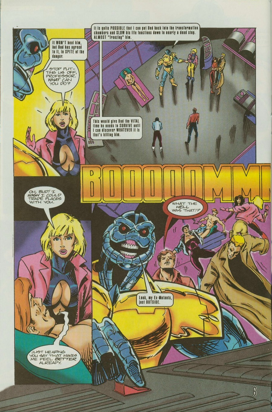 Read online Ex-Mutants comic -  Issue #11 - 8