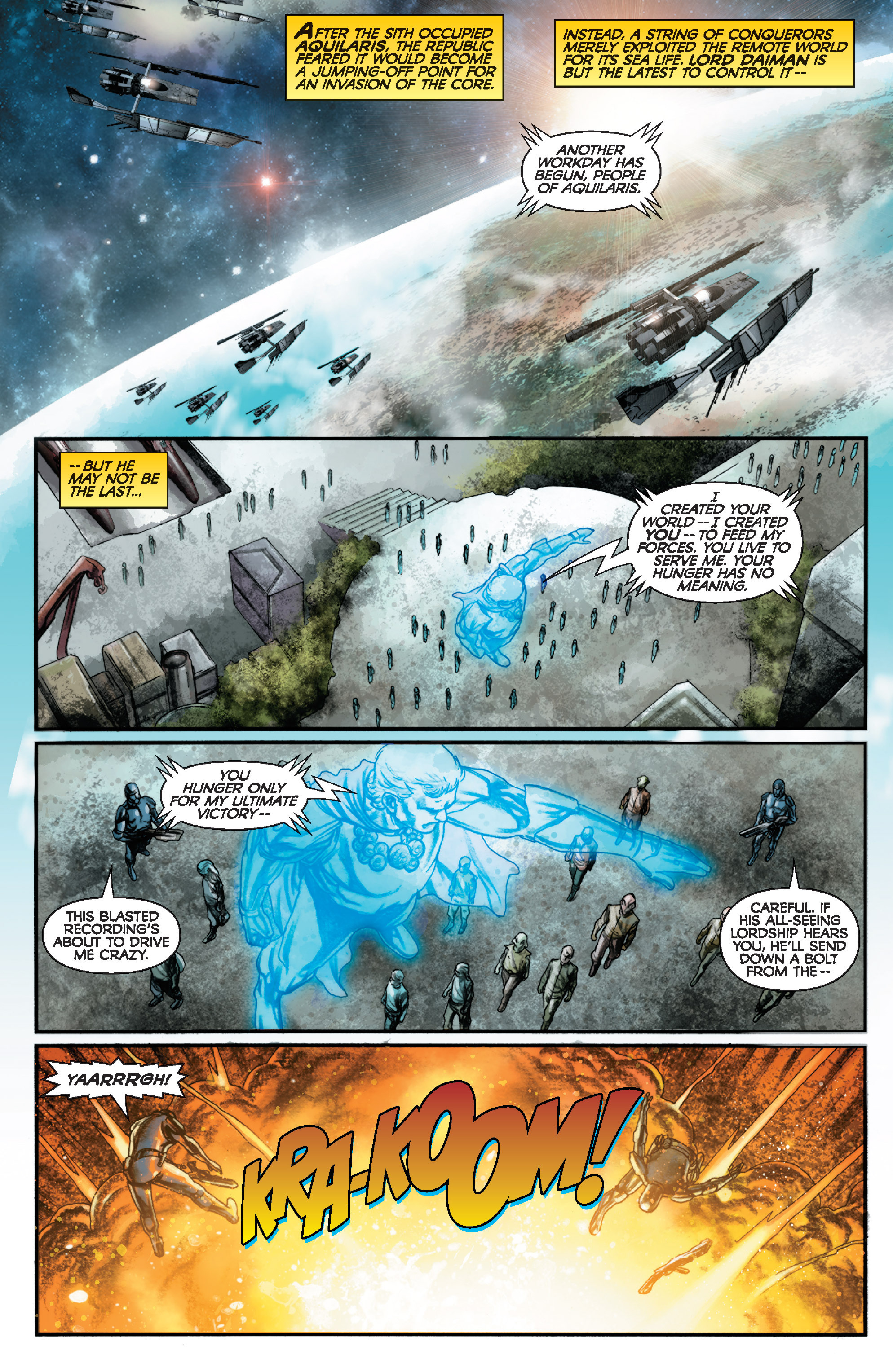 Read online Star Wars: Knight Errant - Deluge comic -  Issue #1 - 3