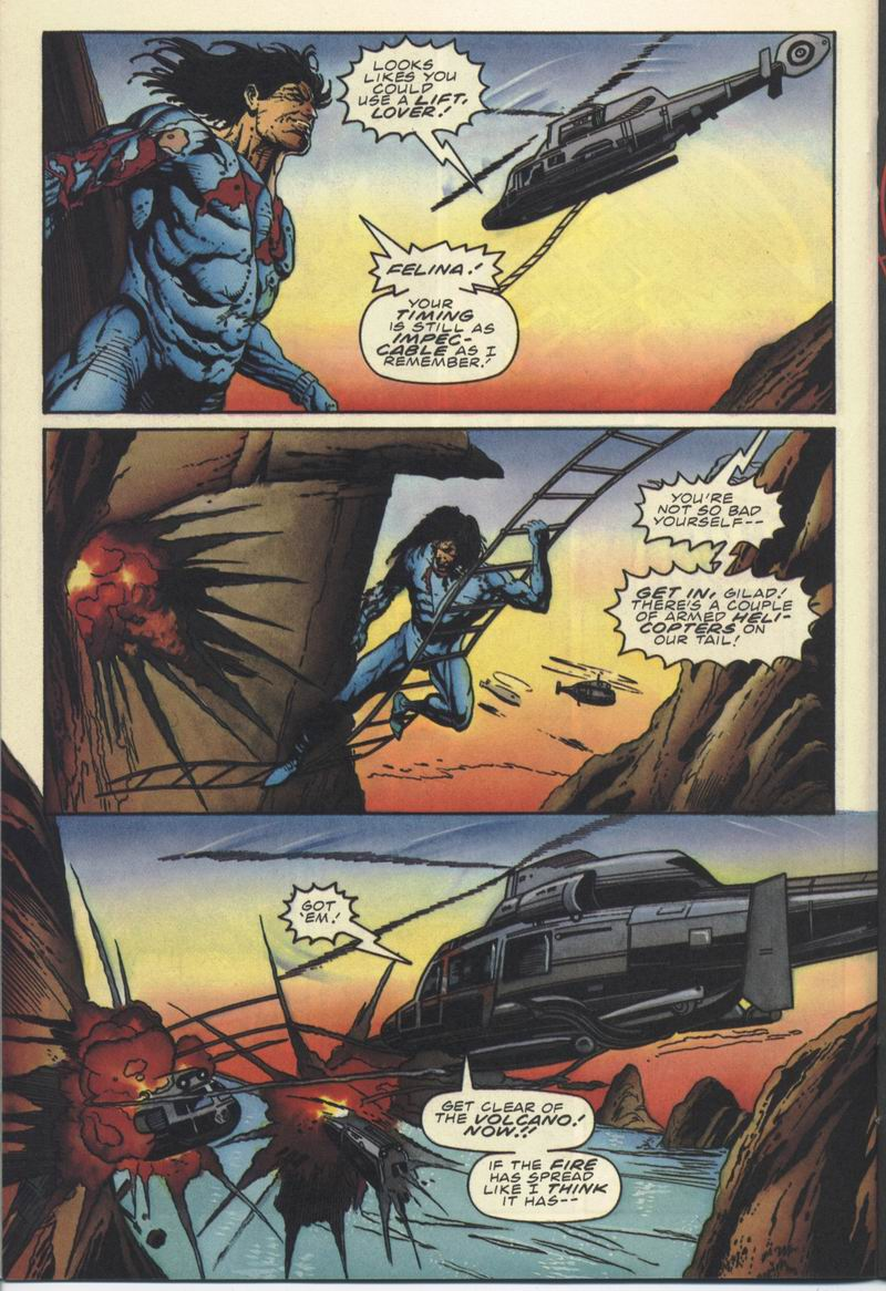 Read online Secret Weapons comic -  Issue #10 - 15