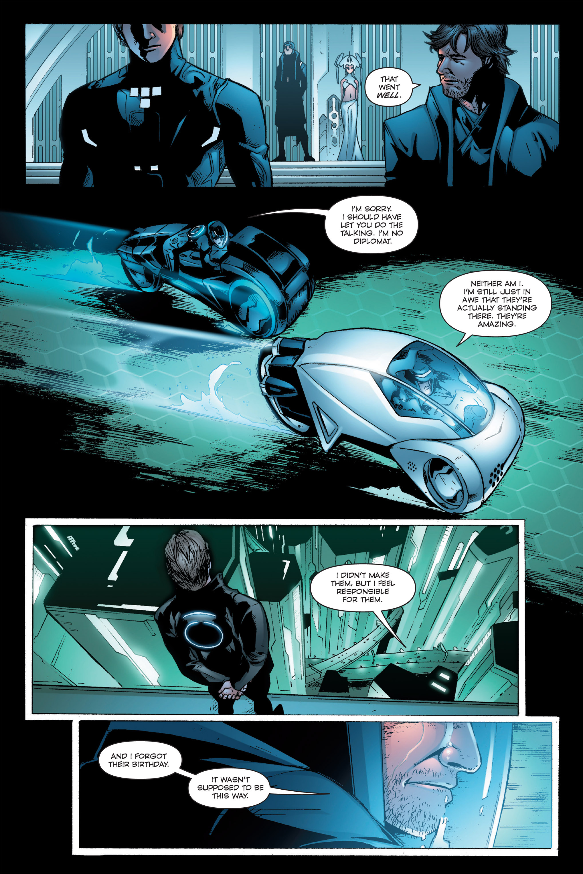 Read online TRON: Betrayal comic -  Issue # TPB - 73