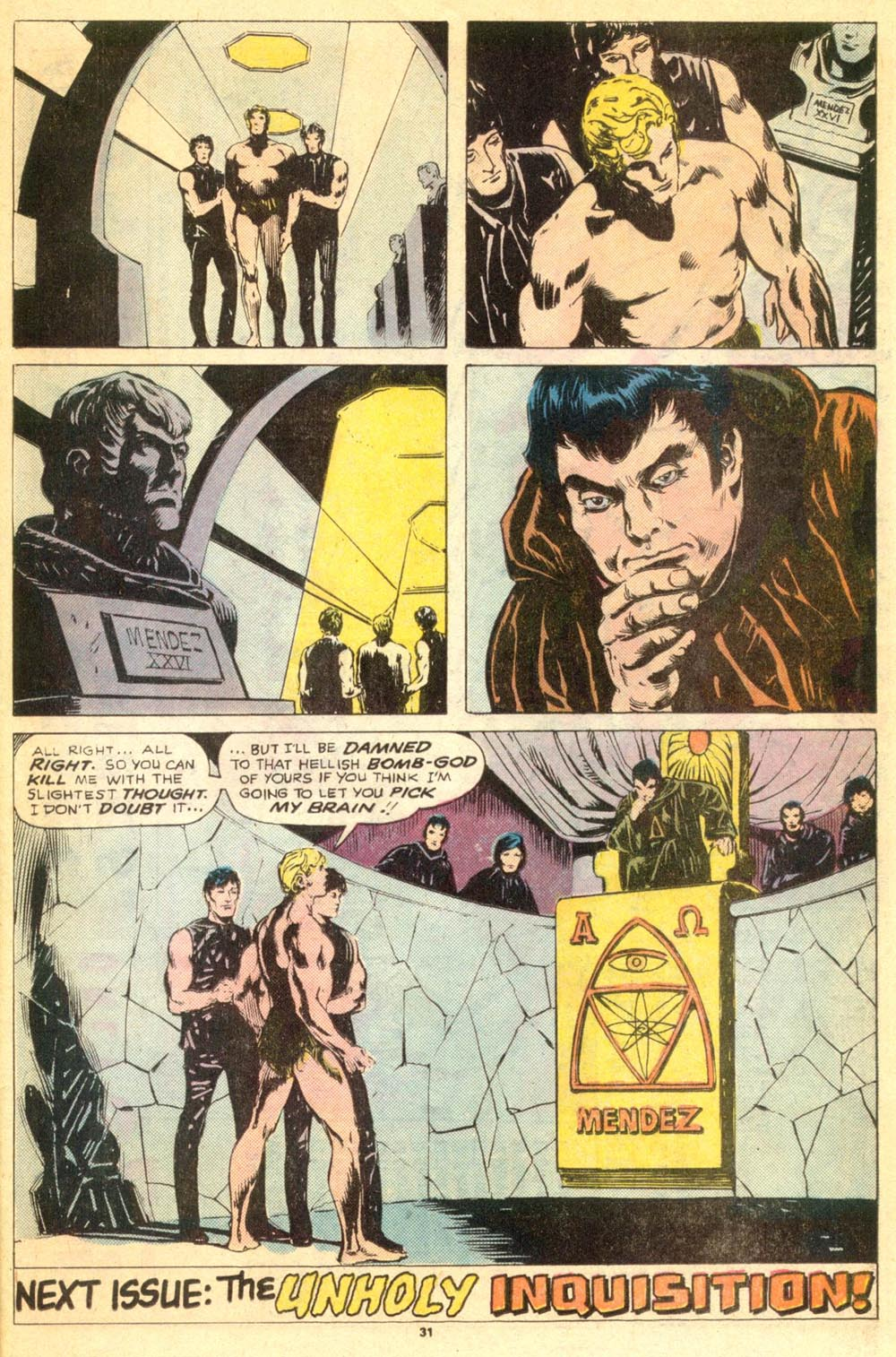 Read online Adventures on the Planet of the Apes comic -  Issue #9 - 17