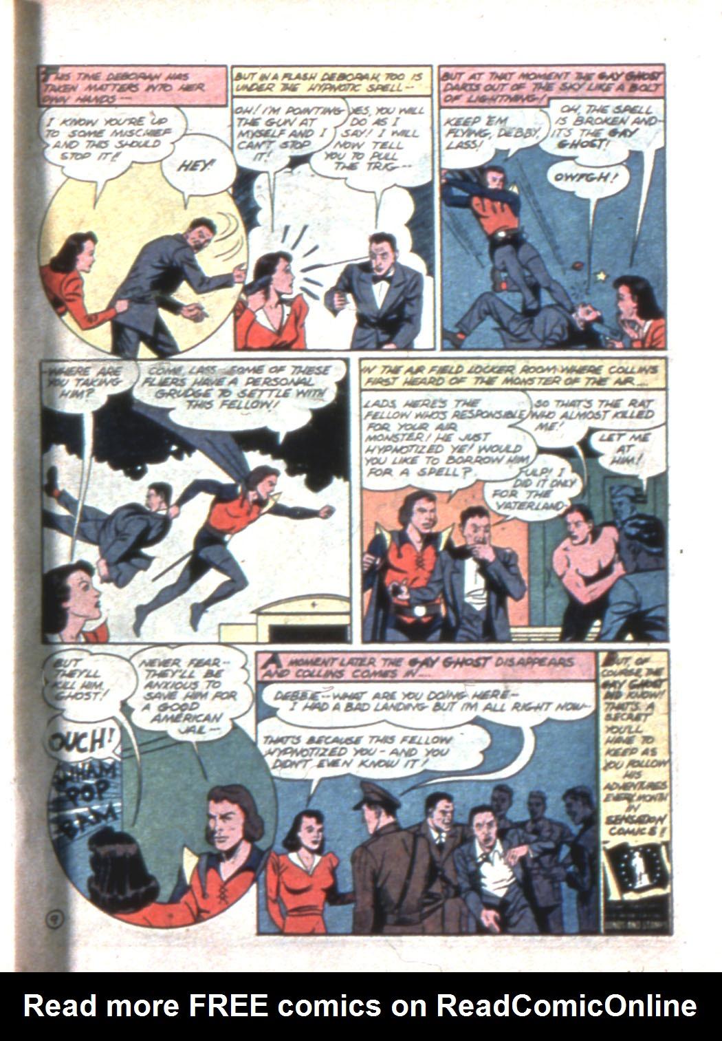 Read online Sensation (Mystery) Comics comic -  Issue #11 - 45