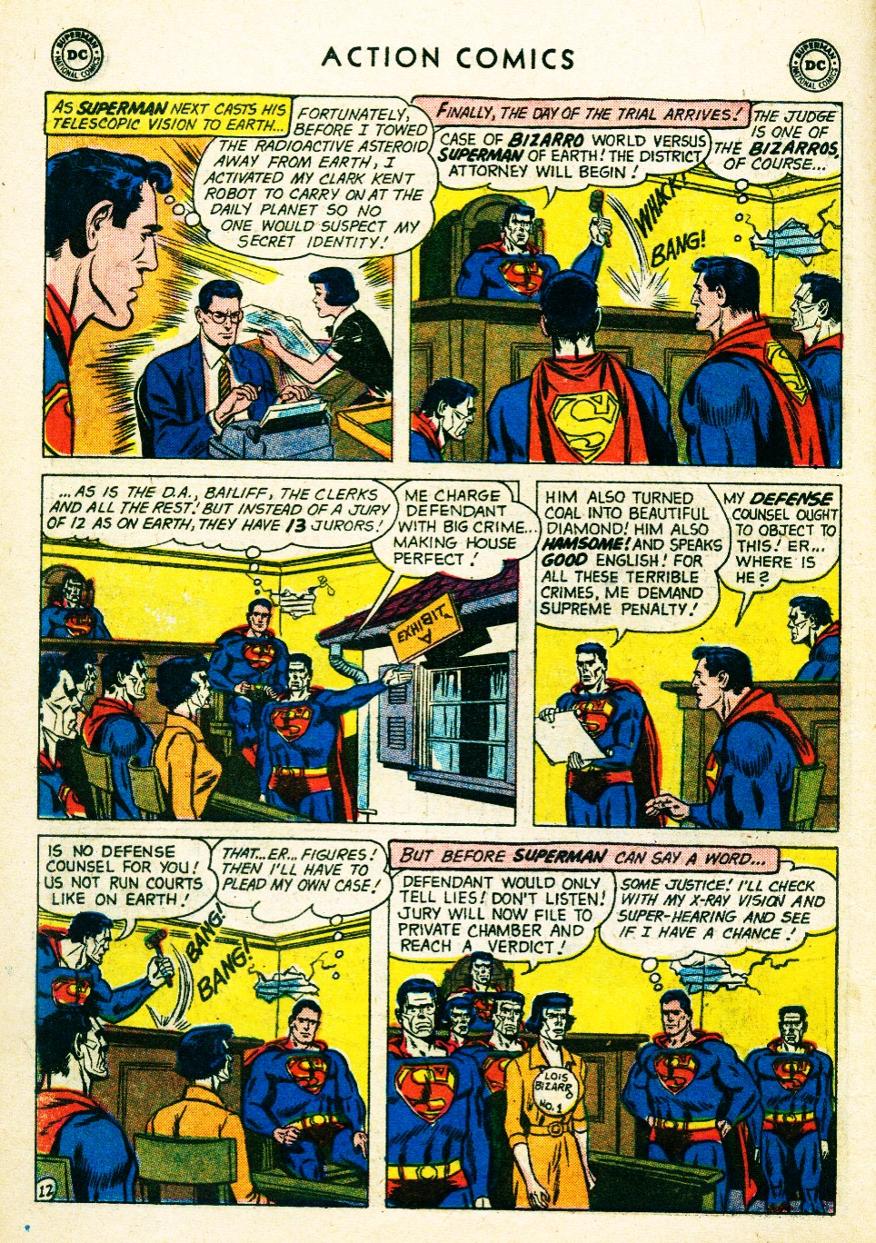 Read online Action Comics (1938) comic -  Issue #263 - 14