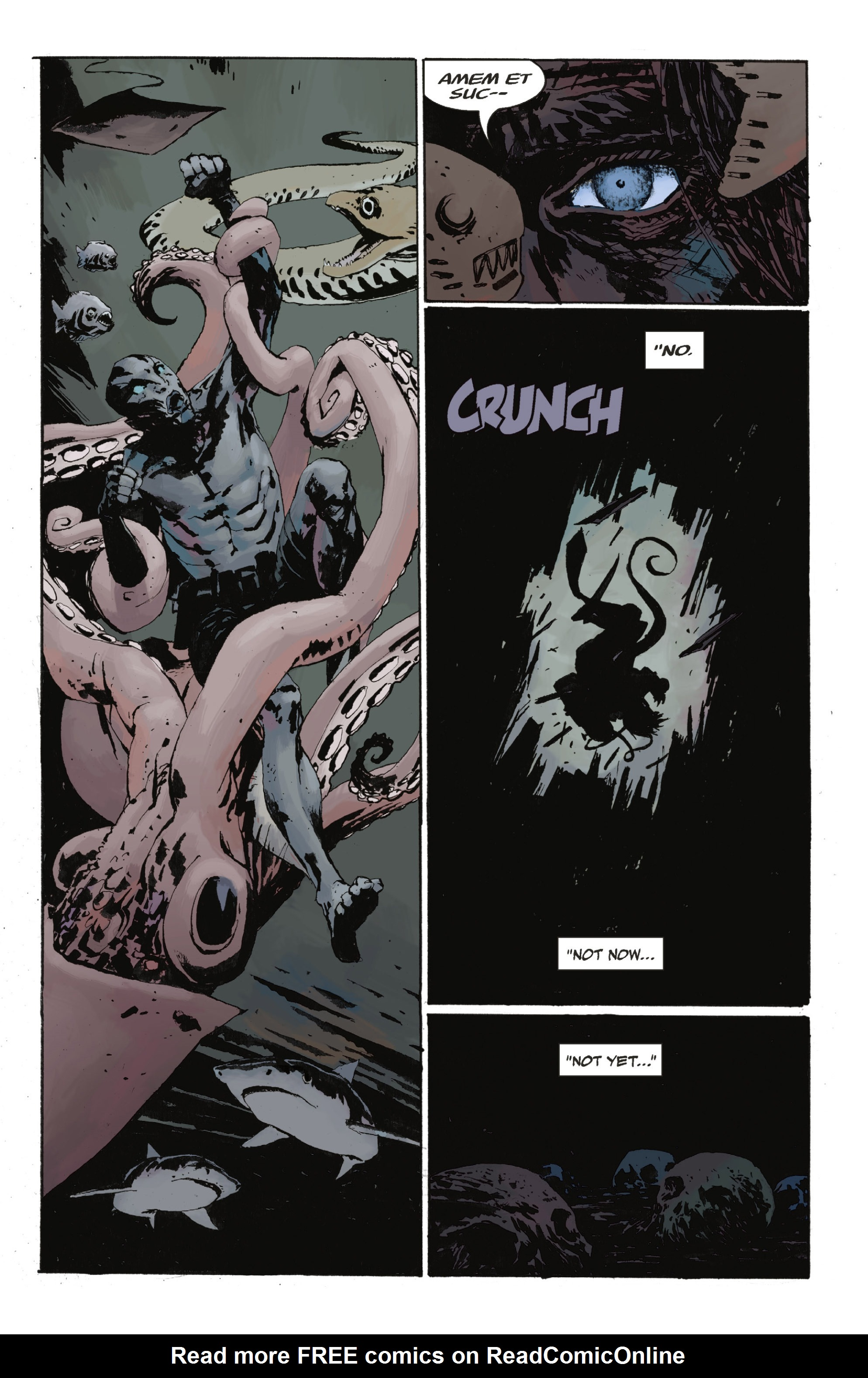 Read online Abe Sapien: The Drowning comic -  Issue #Abe Sapien: The Drowning _TPB - 32
