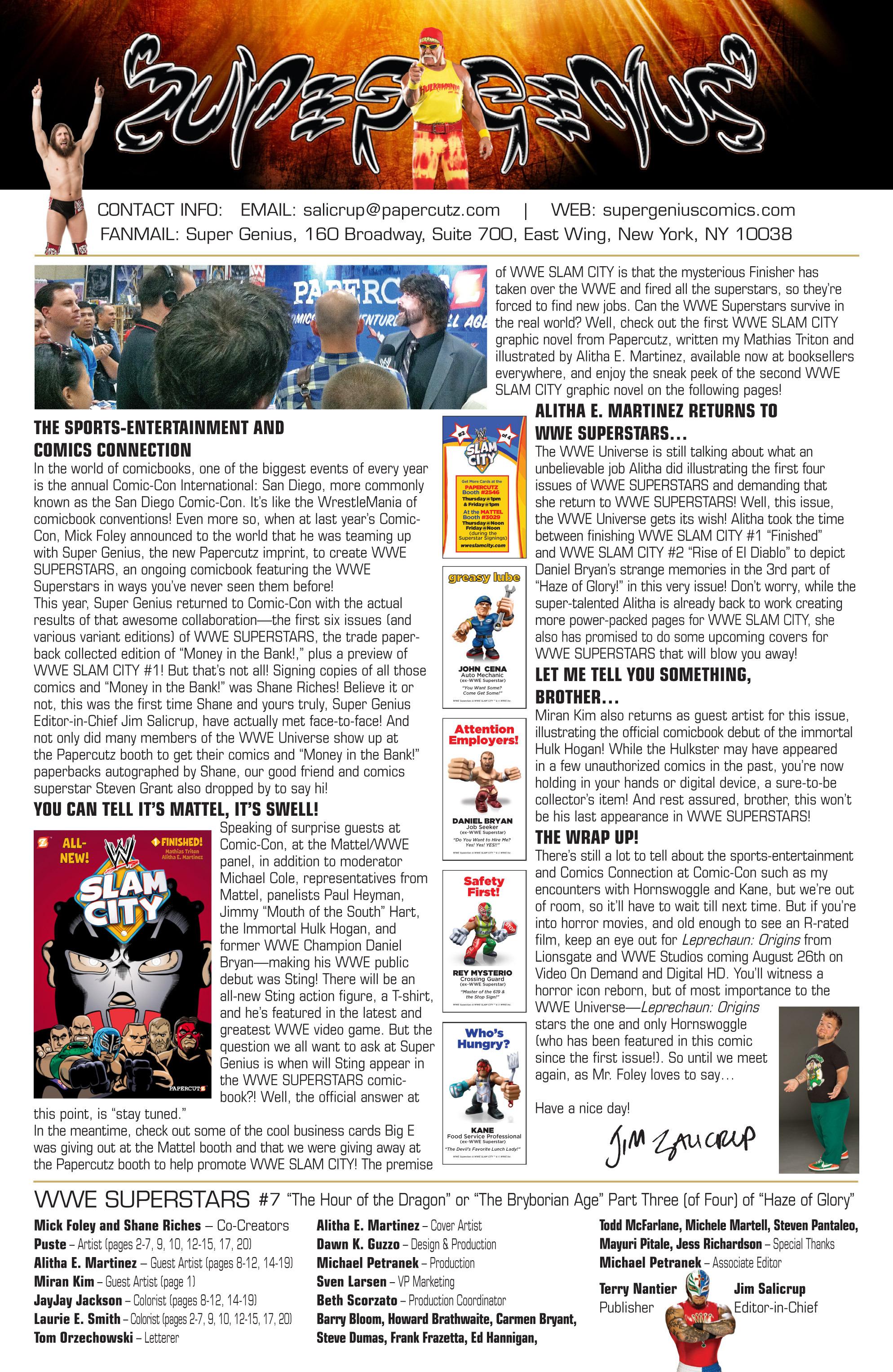 Read online WWE Superstars comic -  Issue #7 - 23