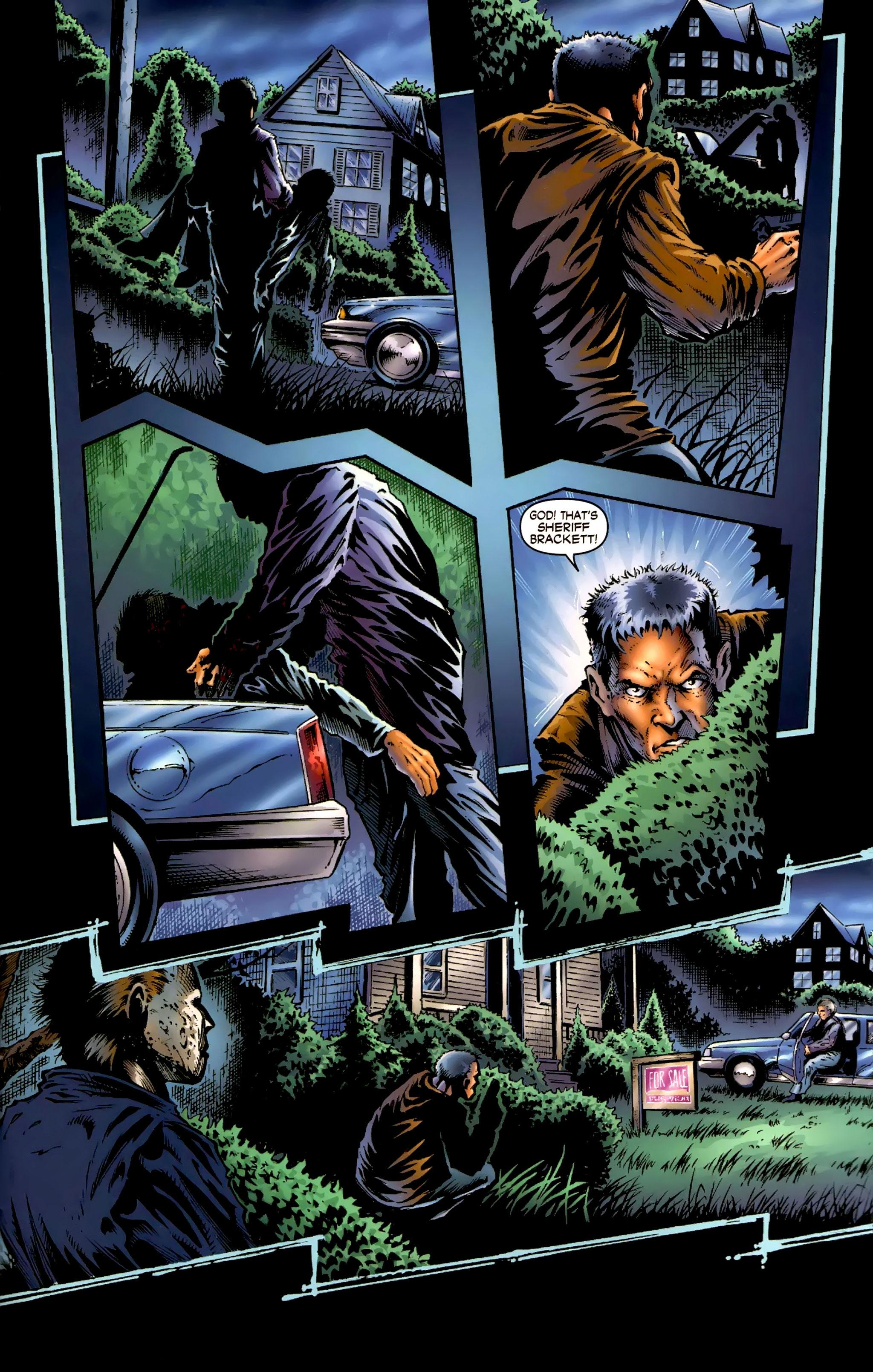 Read online Halloween II: The Blackest Eyes comic -  Issue # Full - 9