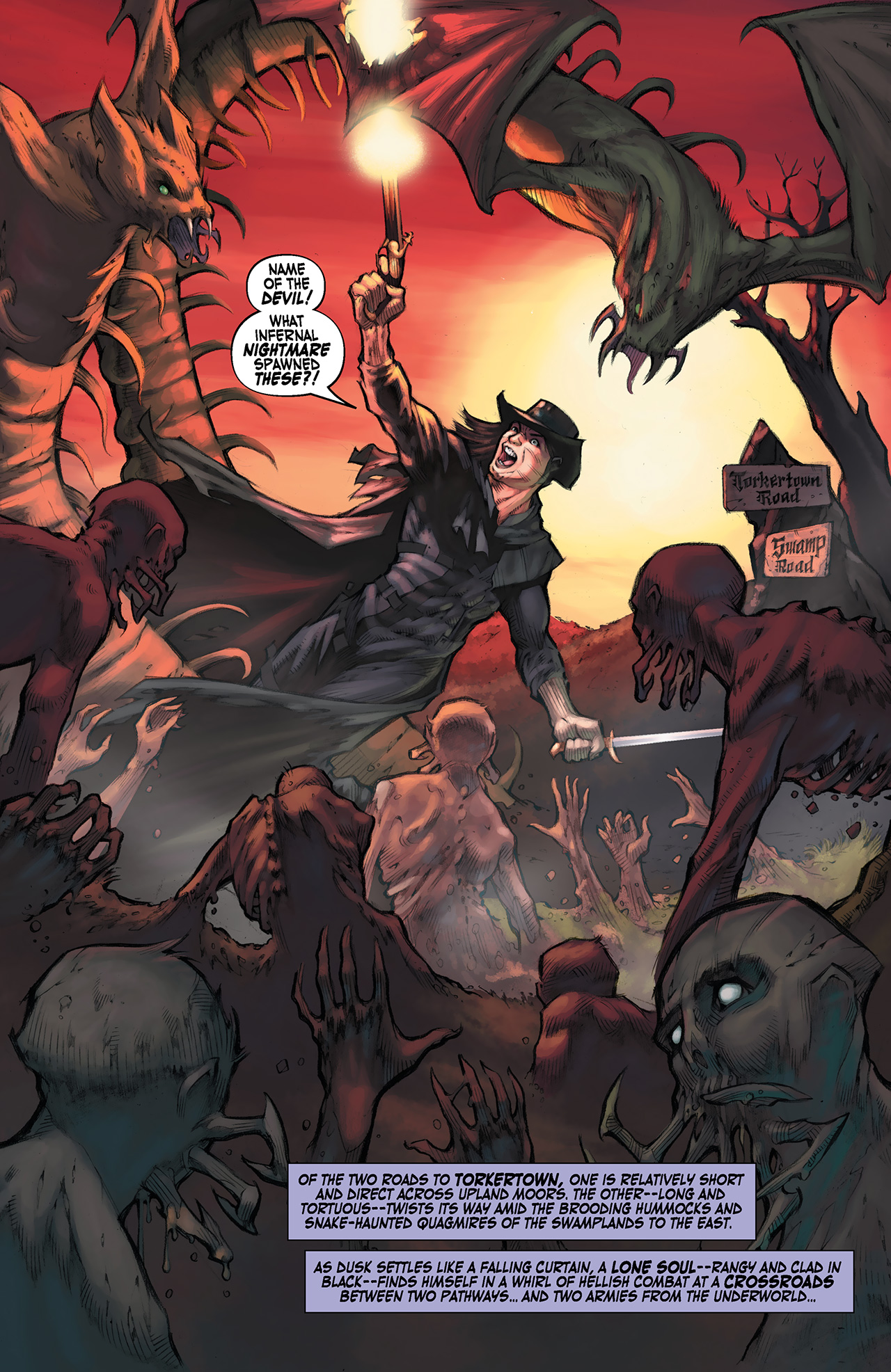 Read online Solomon Kane: Red Shadows comic -  Issue #1 - 4