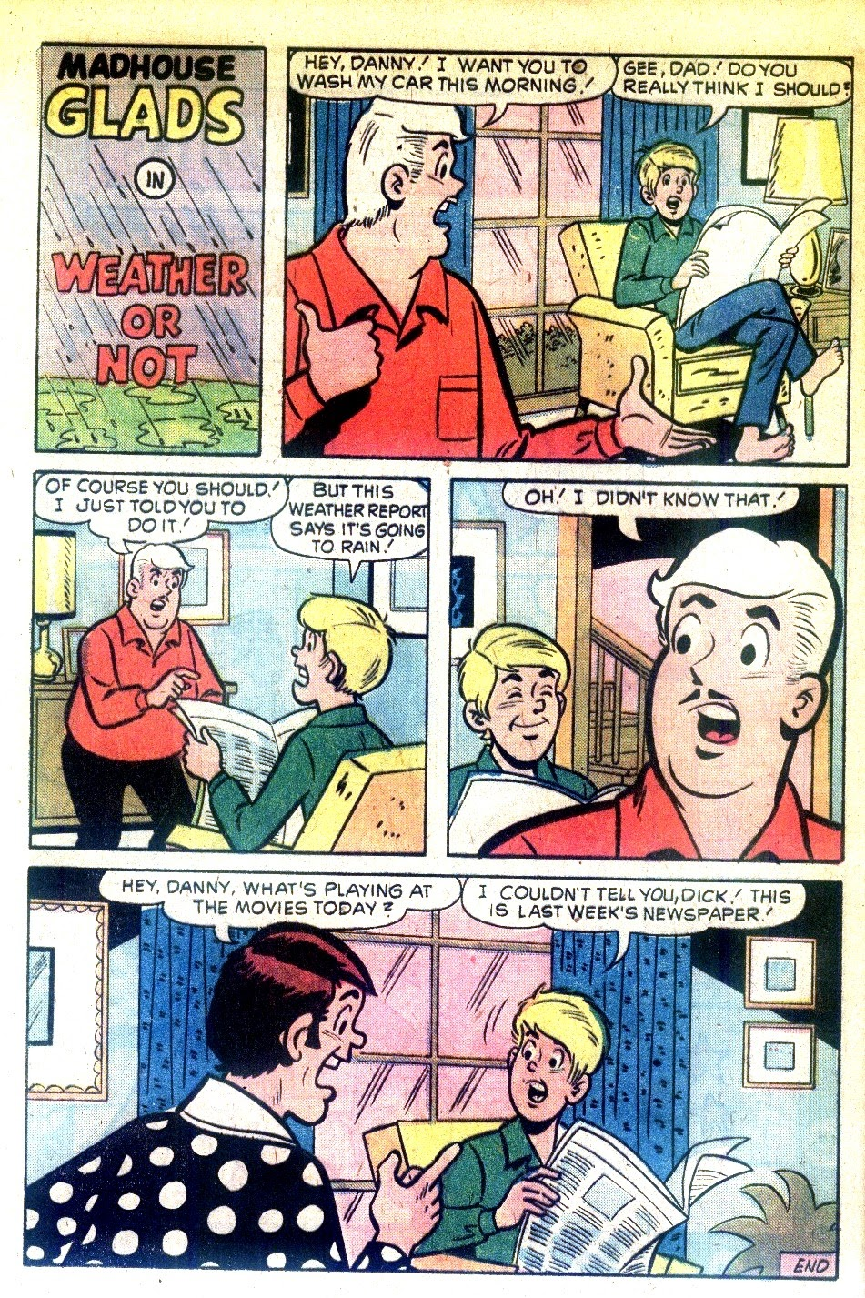 Read online The Mad House Glads comic -  Issue #92 - 36