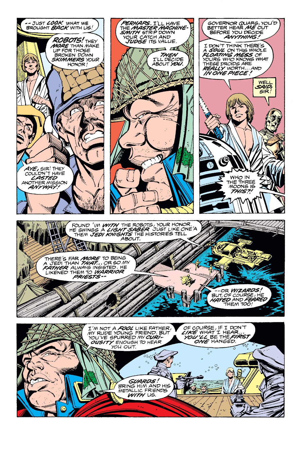 Read online Star Wars Legends: The Original Marvel Years - Epic Collection comic -  Issue # TPB 1 (Part 3) - 19