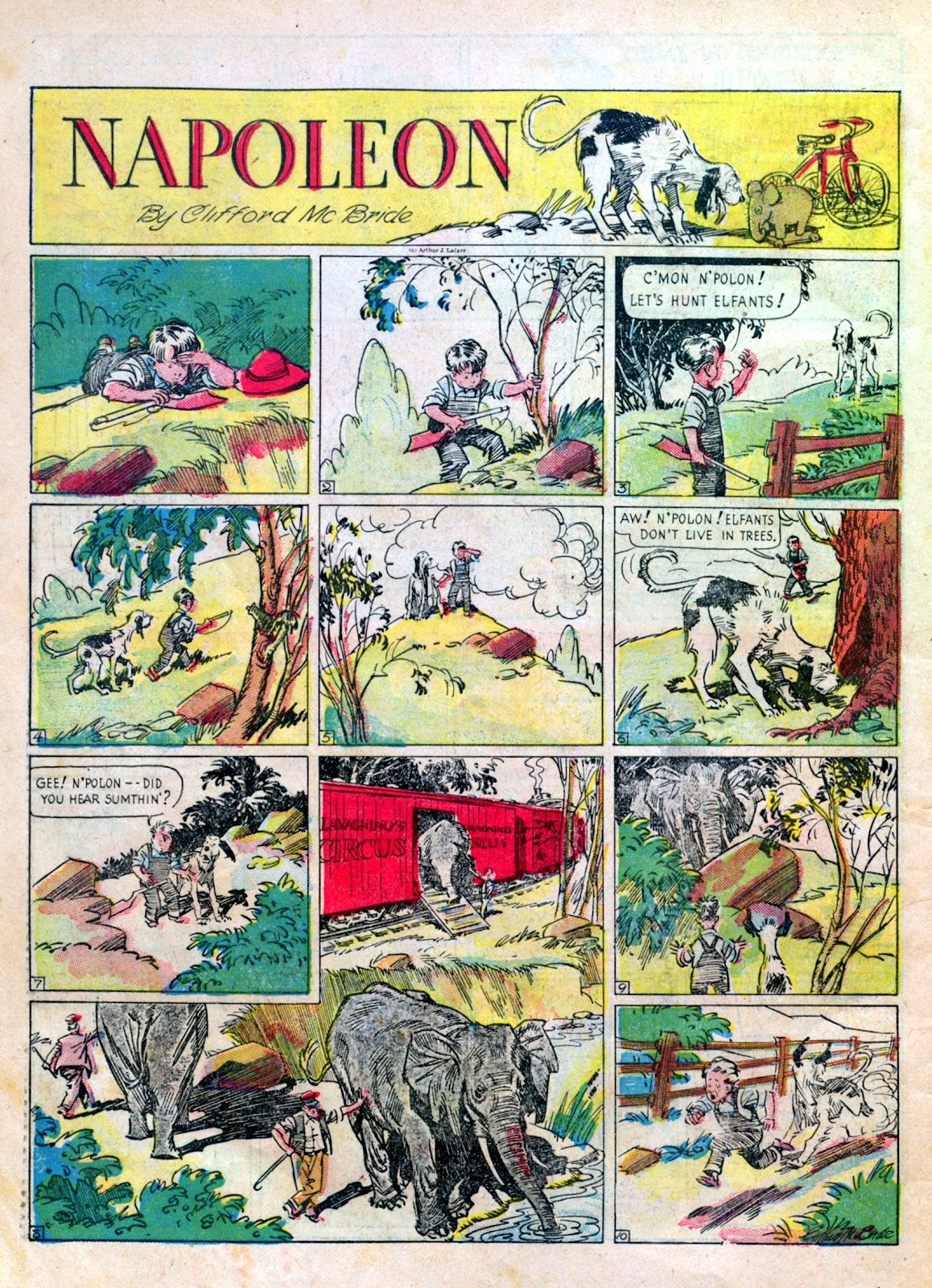 Read online Famous Funnies comic -  Issue #6 - 64