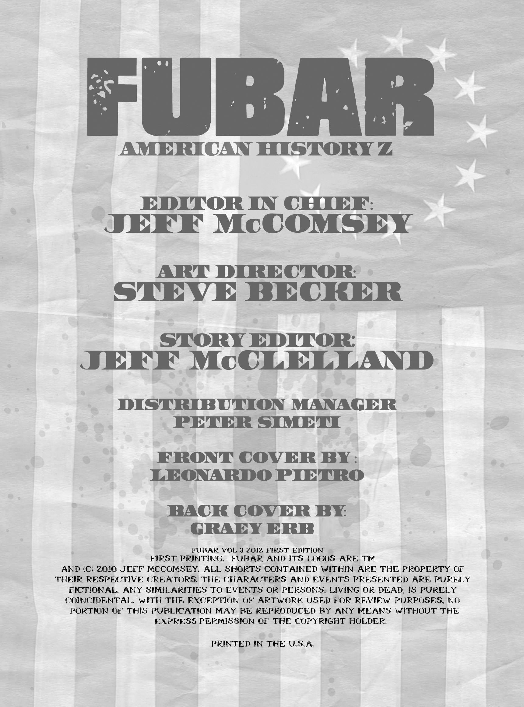 Read online FUBAR comic -  Issue #3 - 3