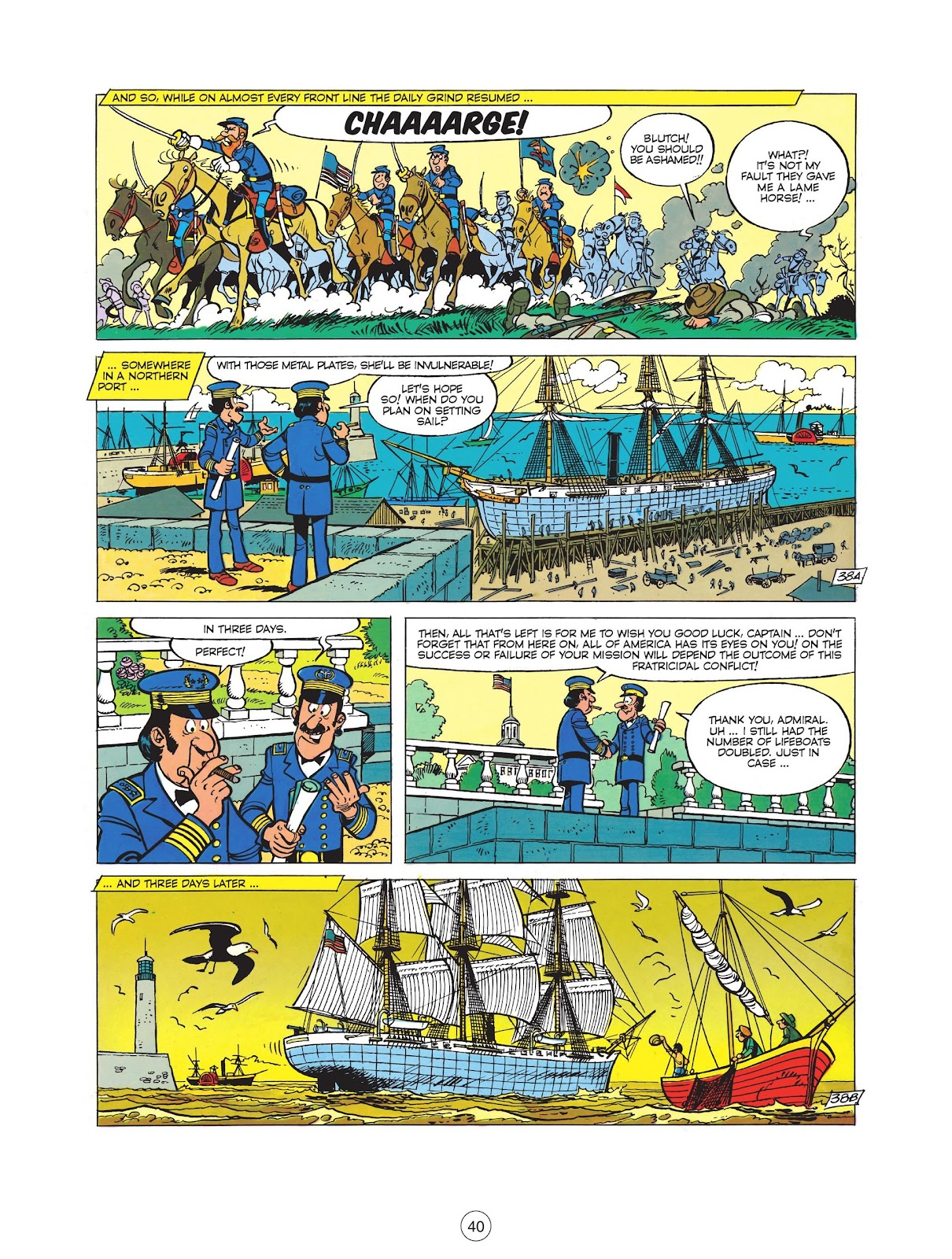 Read online The Bluecoats comic -  Issue #12 - 42