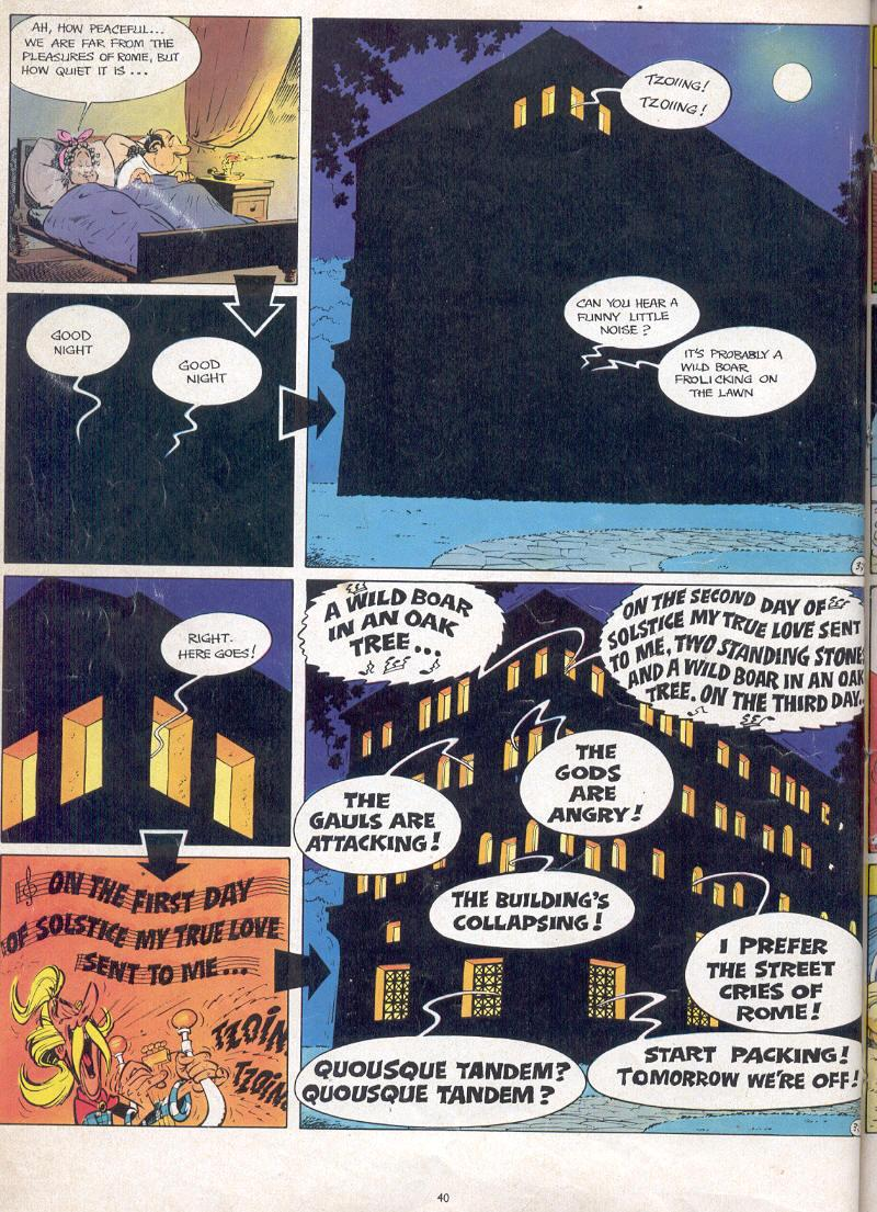 Read online Asterix comic -  Issue #17 - 38
