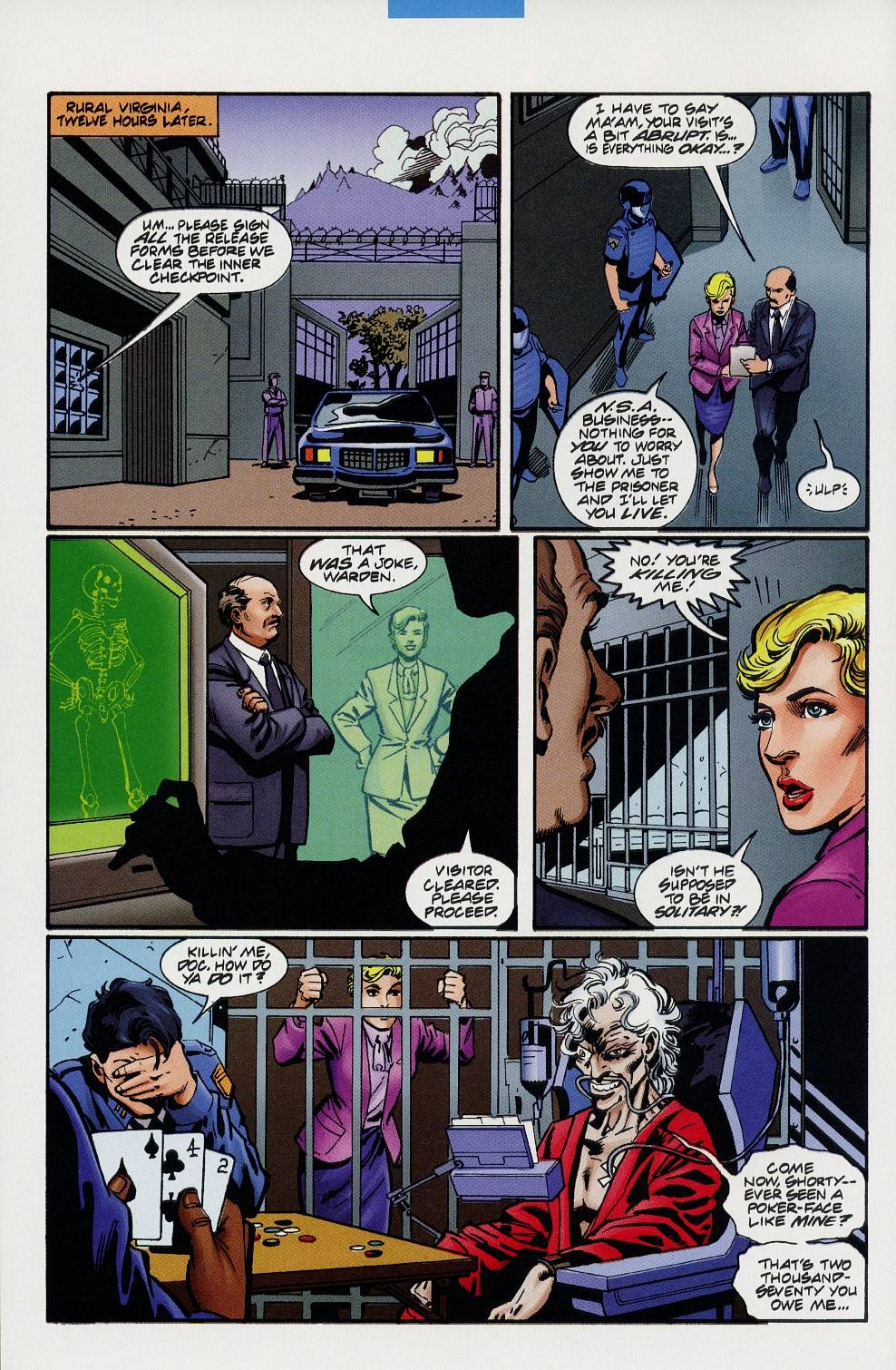 Read online Solar, Man of the Atom comic -  Issue #59 - 8