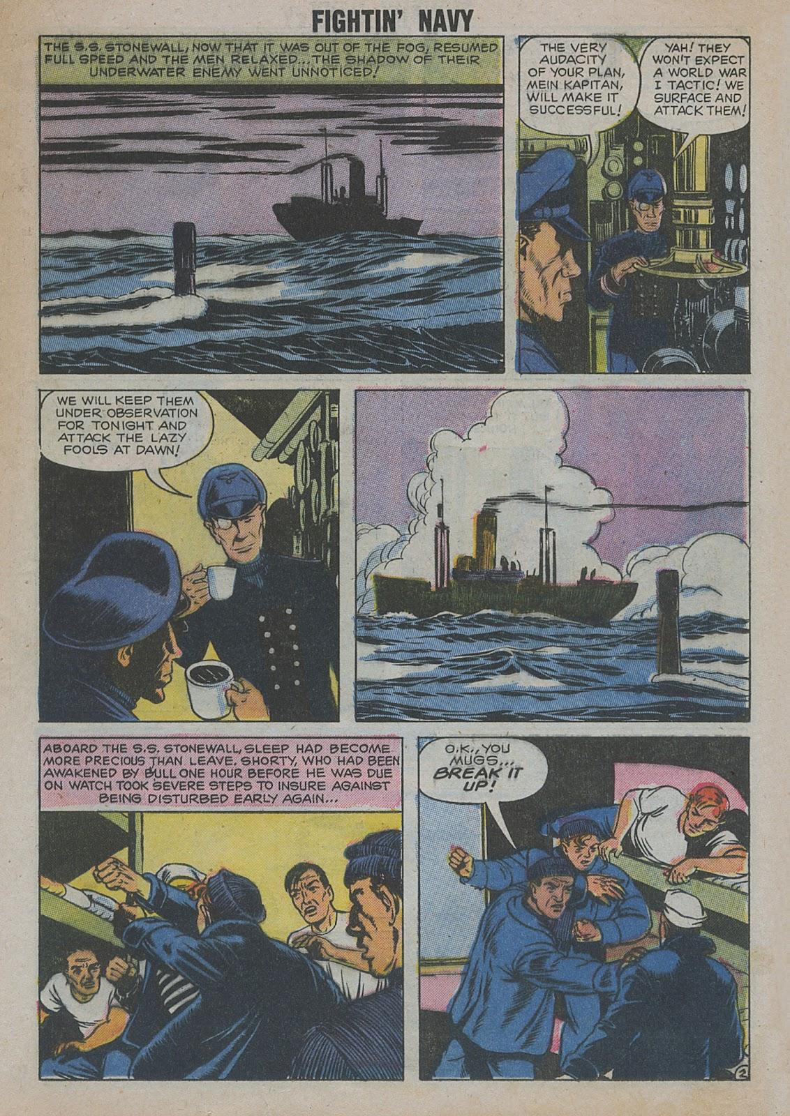 Read online Fightin' Navy comic -  Issue #82 - 23