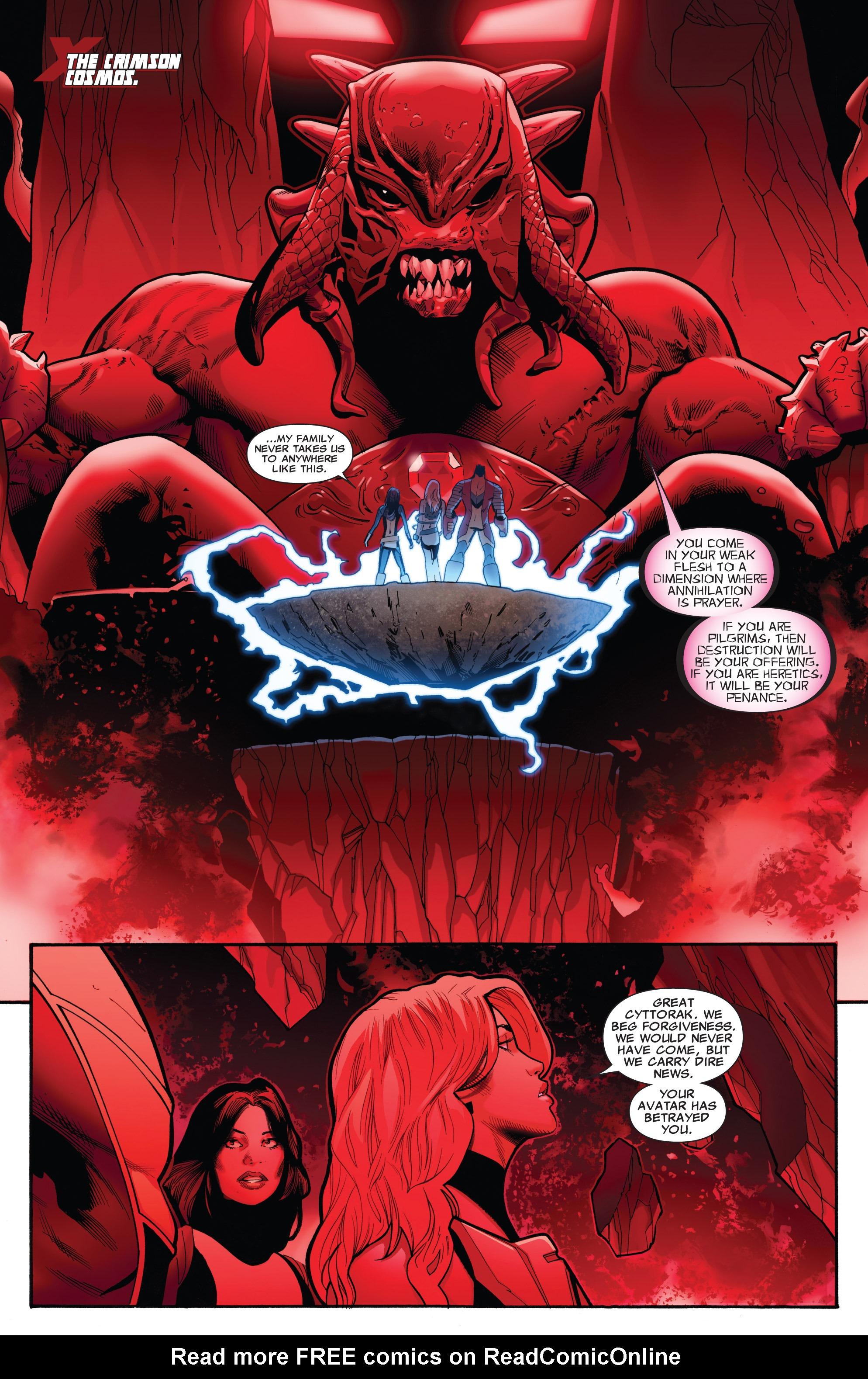 Read online Uncanny X-Men (1963) comic -  Issue #542 - 12