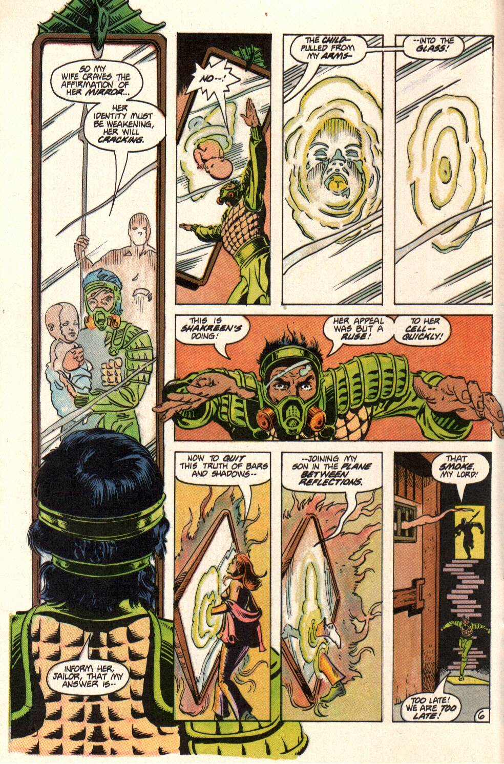 Read online Aztec Ace comic -  Issue #10 - 6