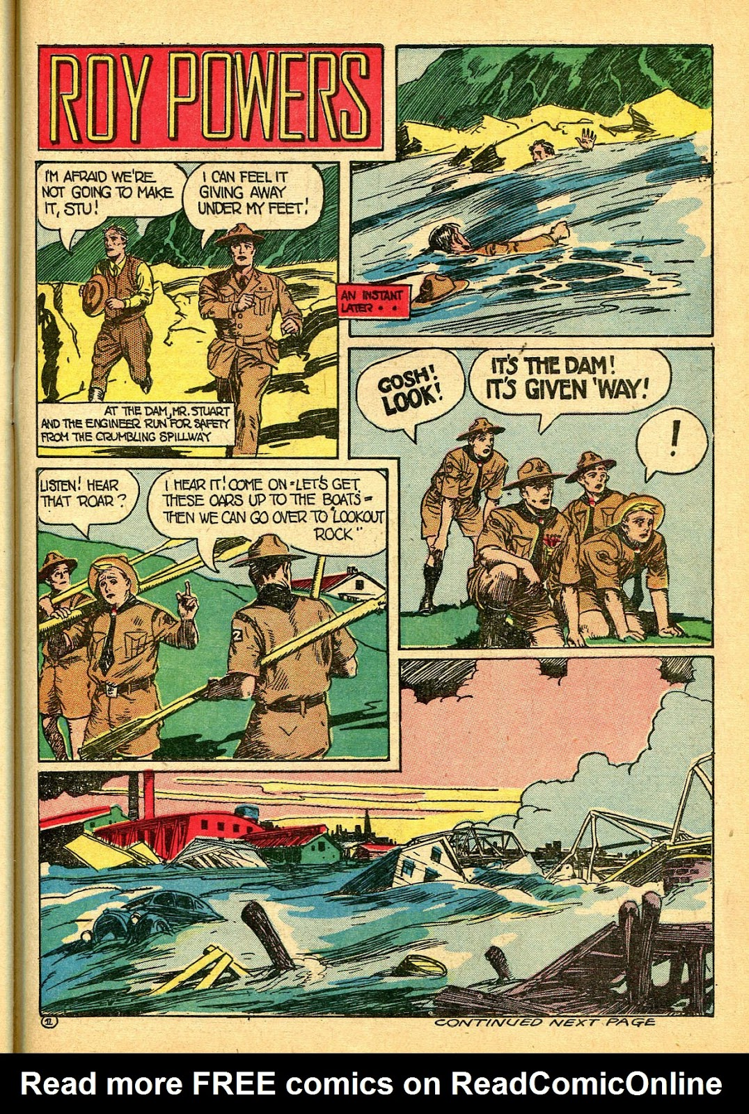 Read online Famous Funnies comic -  Issue #108 - 51