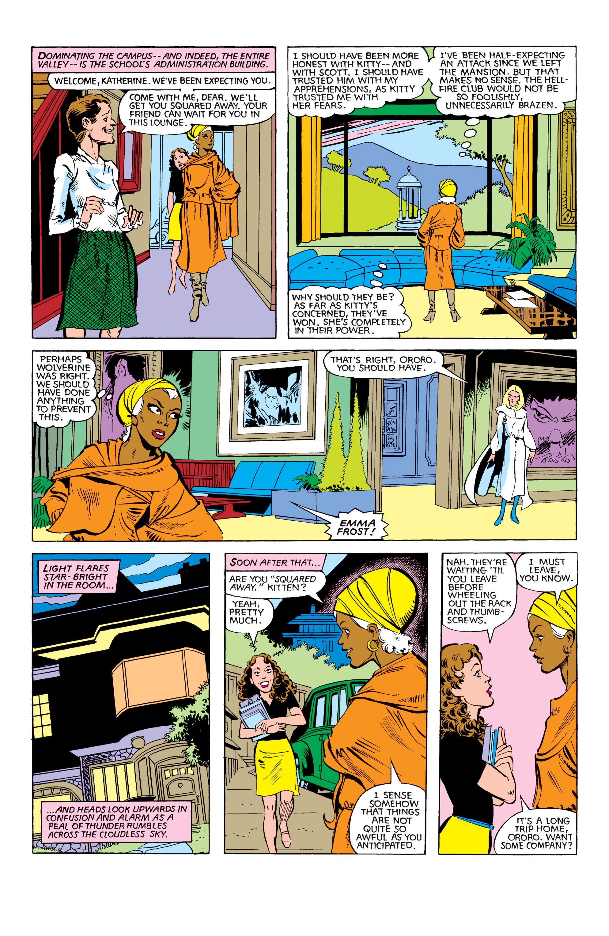 Read online Uncanny X-Men (1963) comic -  Issue #151 - 9