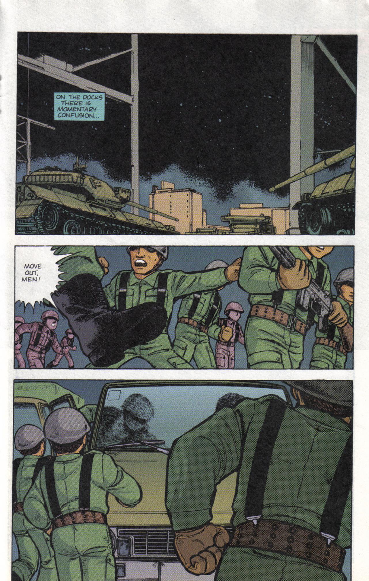 Read online Dark Horse Classics: Terror of Godzilla comic -  Issue #3 - 18