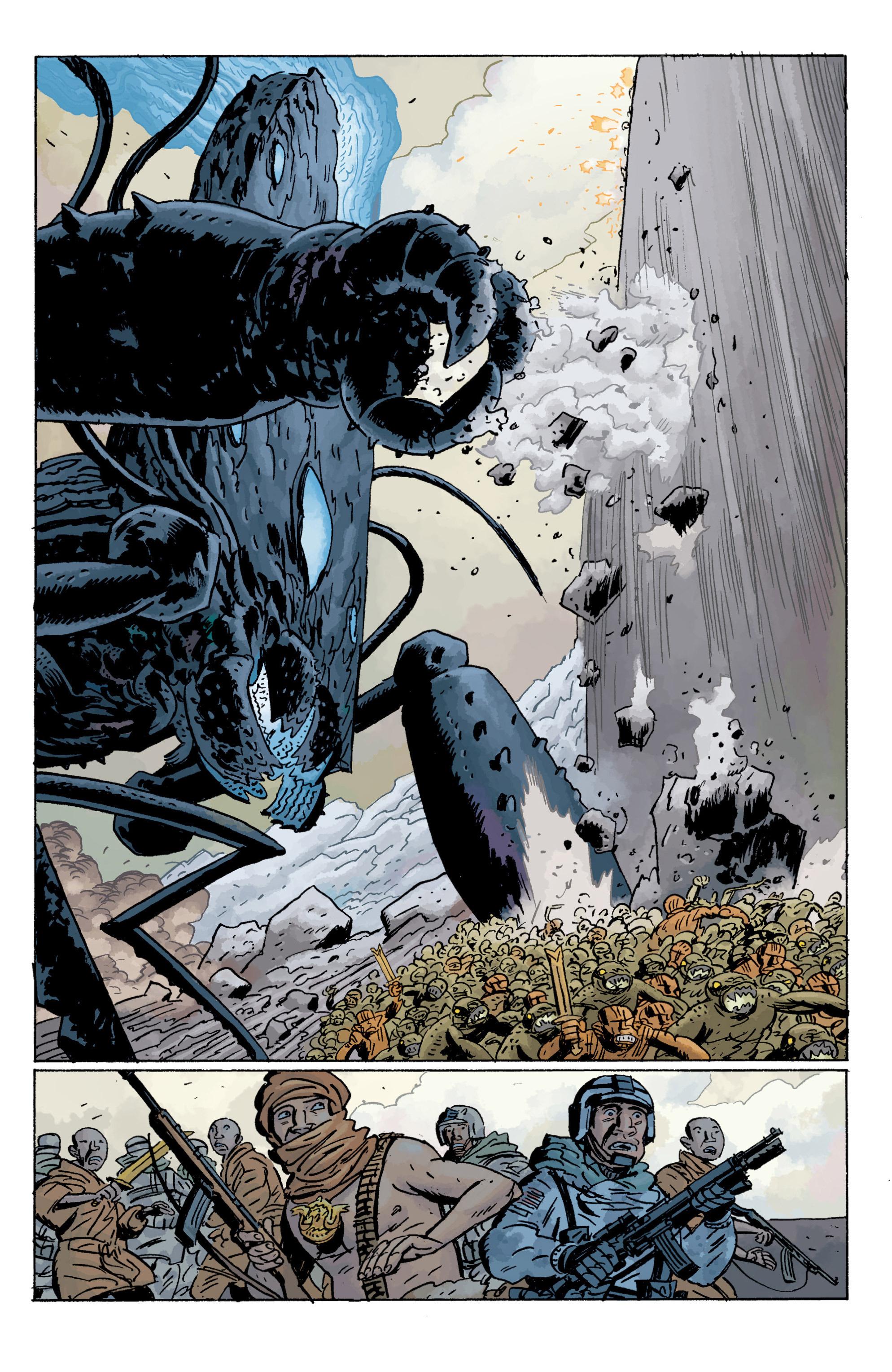 Read online B.P.R.D. (2003) comic -  Issue # TPB 11 - 95