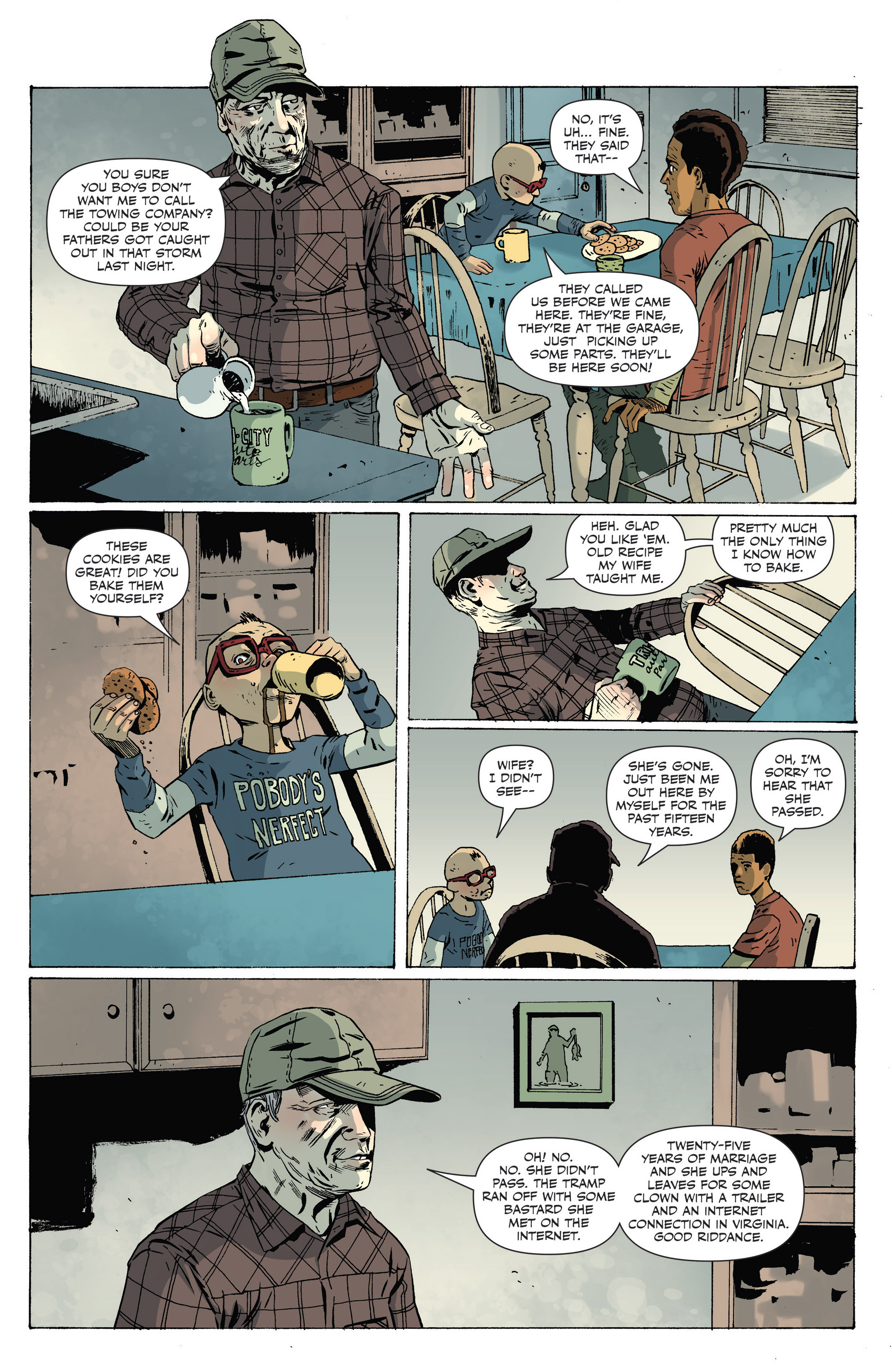 Read online Sheltered comic -  Issue #8 - 14