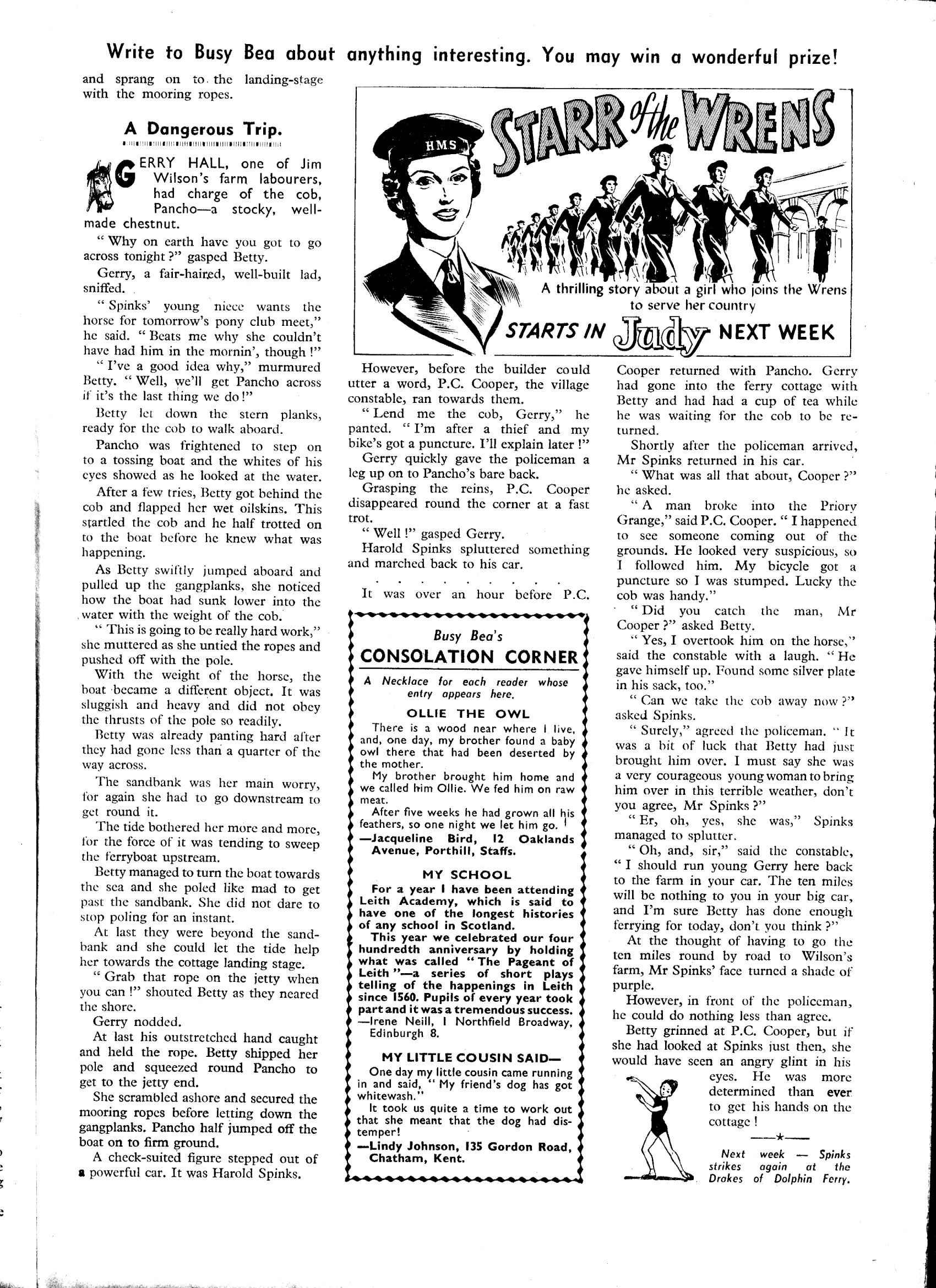Read online Judy comic -  Issue #40 - 19