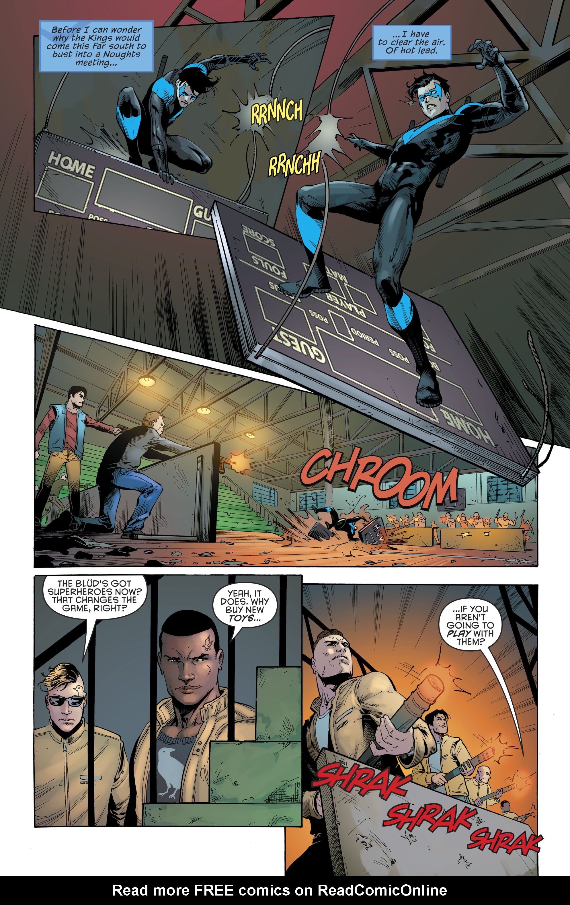Read online Nightwing (2016) comic -  Issue #22 - 6