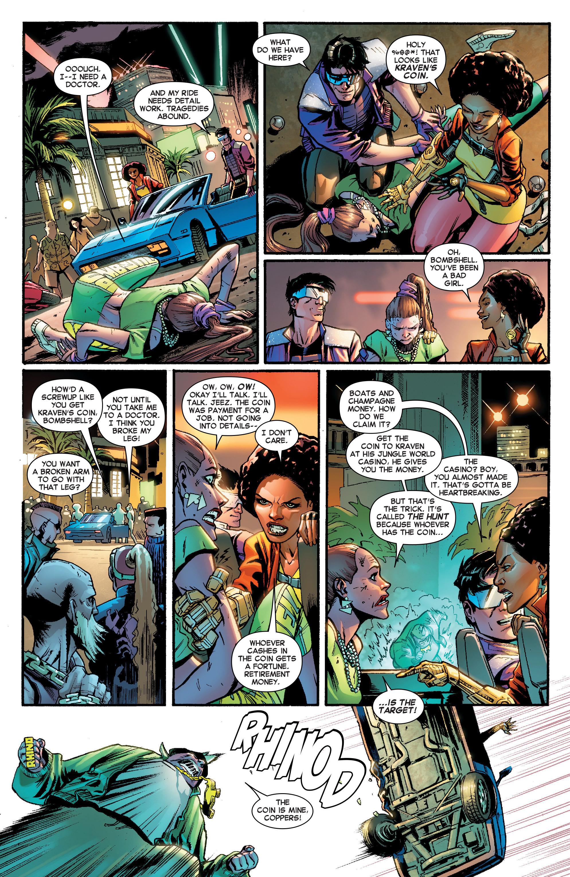 Read online Secret Wars Journal comic -  Issue #2 - 4