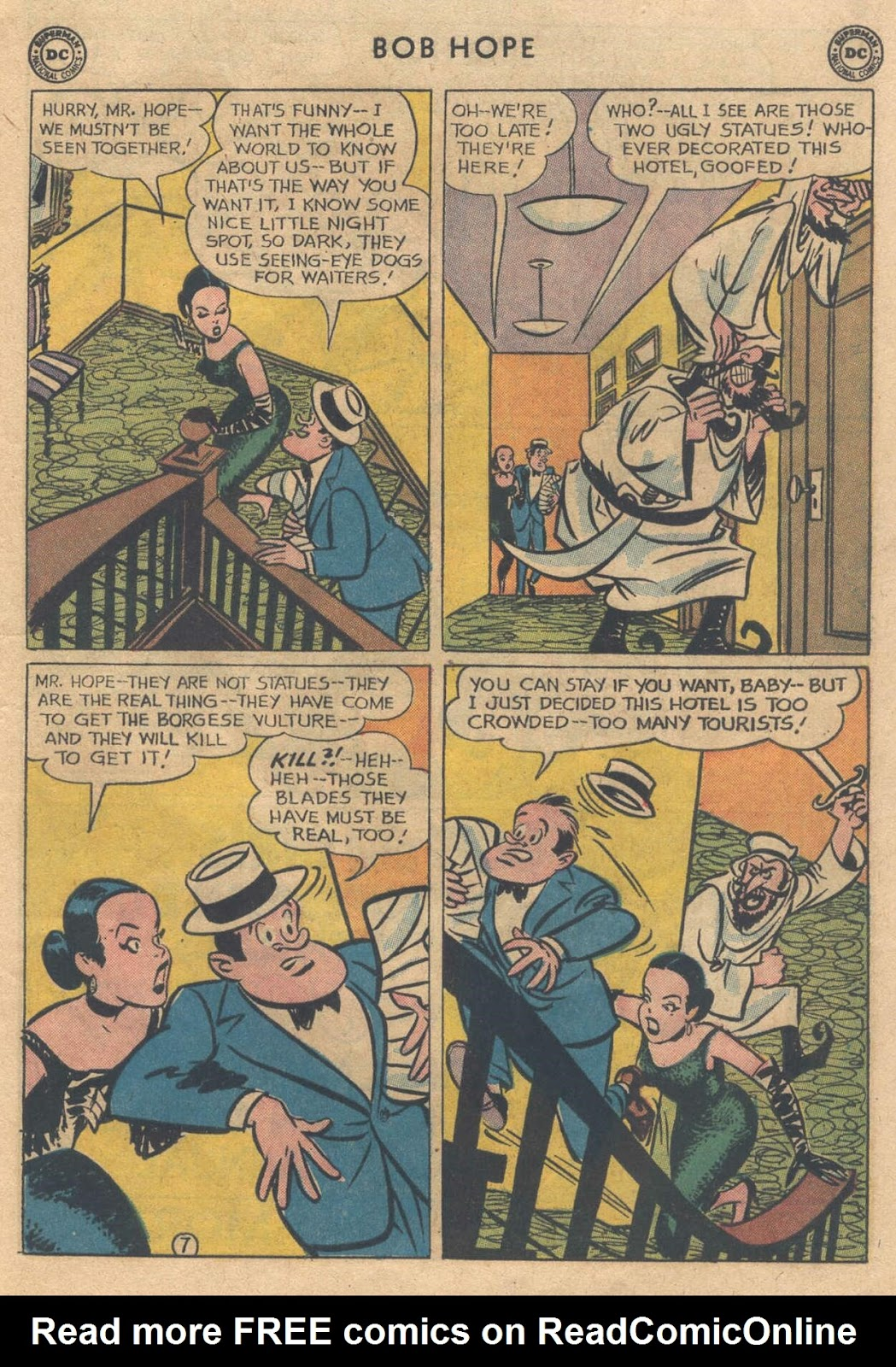 The Adventures of Bob Hope issue 76 - Page 9
