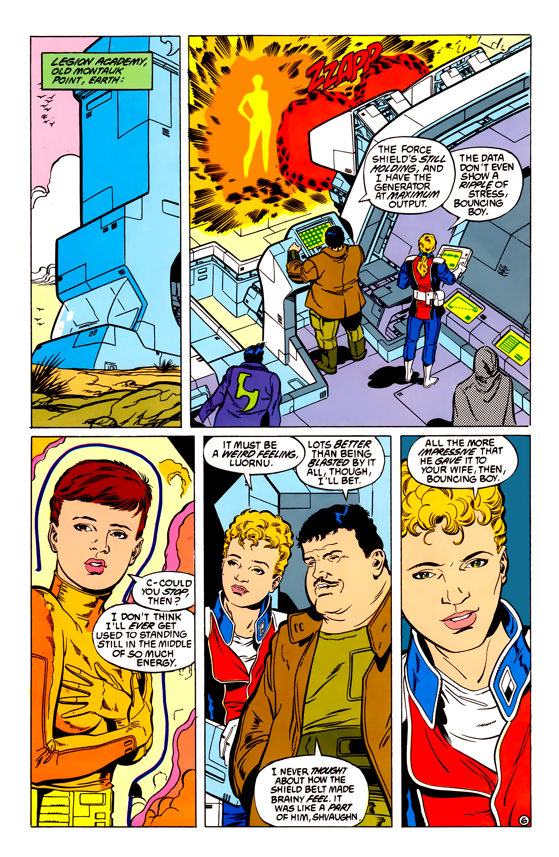 Legion of Super-Heroes (1984) 54 Page 6