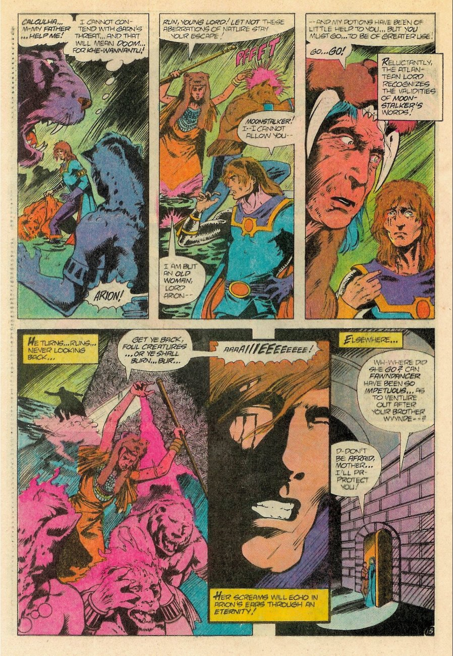 Read online Arion, Lord of Atlantis comic -  Issue #18 - 16