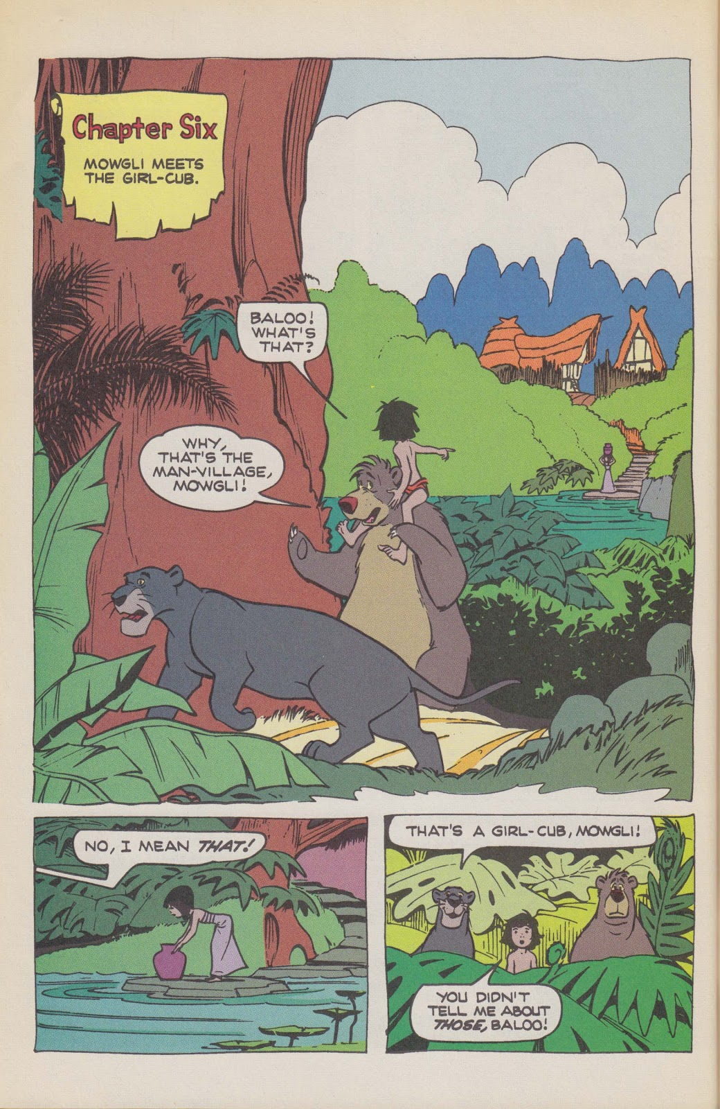 Read online The Jungle Book comic -  Issue # Full - 62